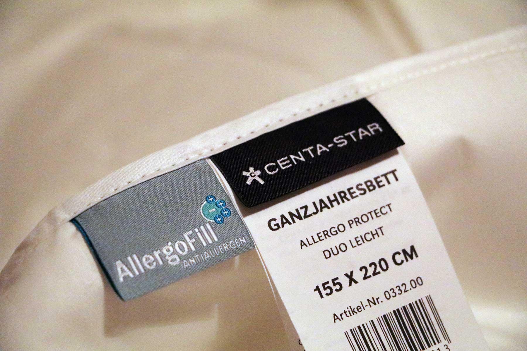 Testbericht: AllergoProtect® (Allergiker-Bettwaren von Centa-Star) Centa-Star-AllergoProtect-anti-allergie-bettwaesche-test_06
