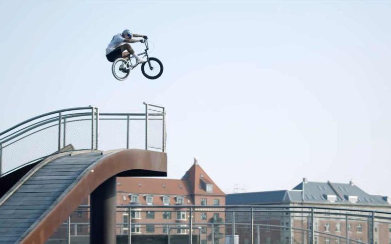 BMX-Dänemark-Rundfahrt mit Kriss Kyle