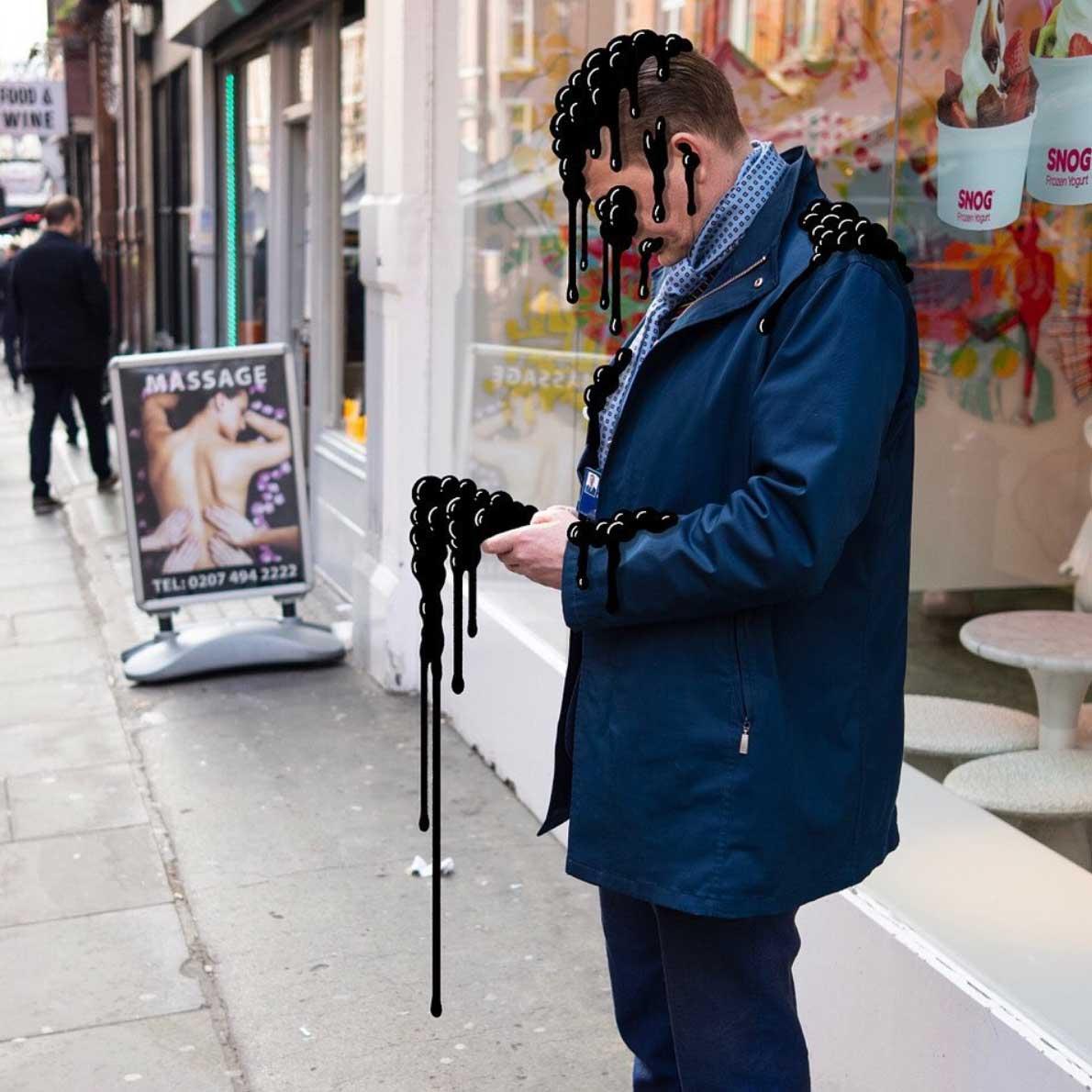 Gezeichnete Smartphone-Monster von Andrew Rae Phone-Buddies_05