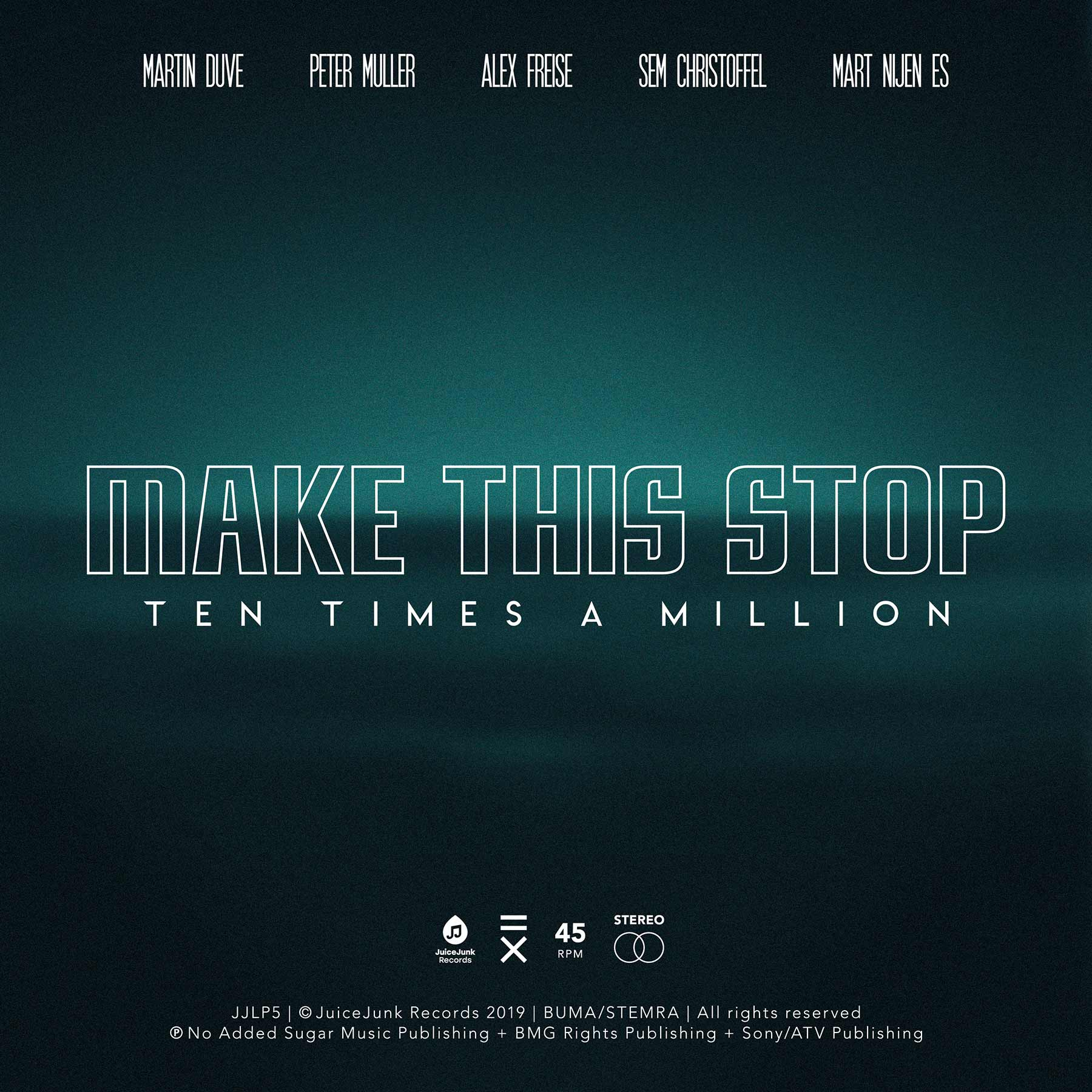 "Musikvideo-Premiere: Ten Times A Million - ""Make This Stop"" Ten-Times-A-Million-Make-This-Stop-single-cover"