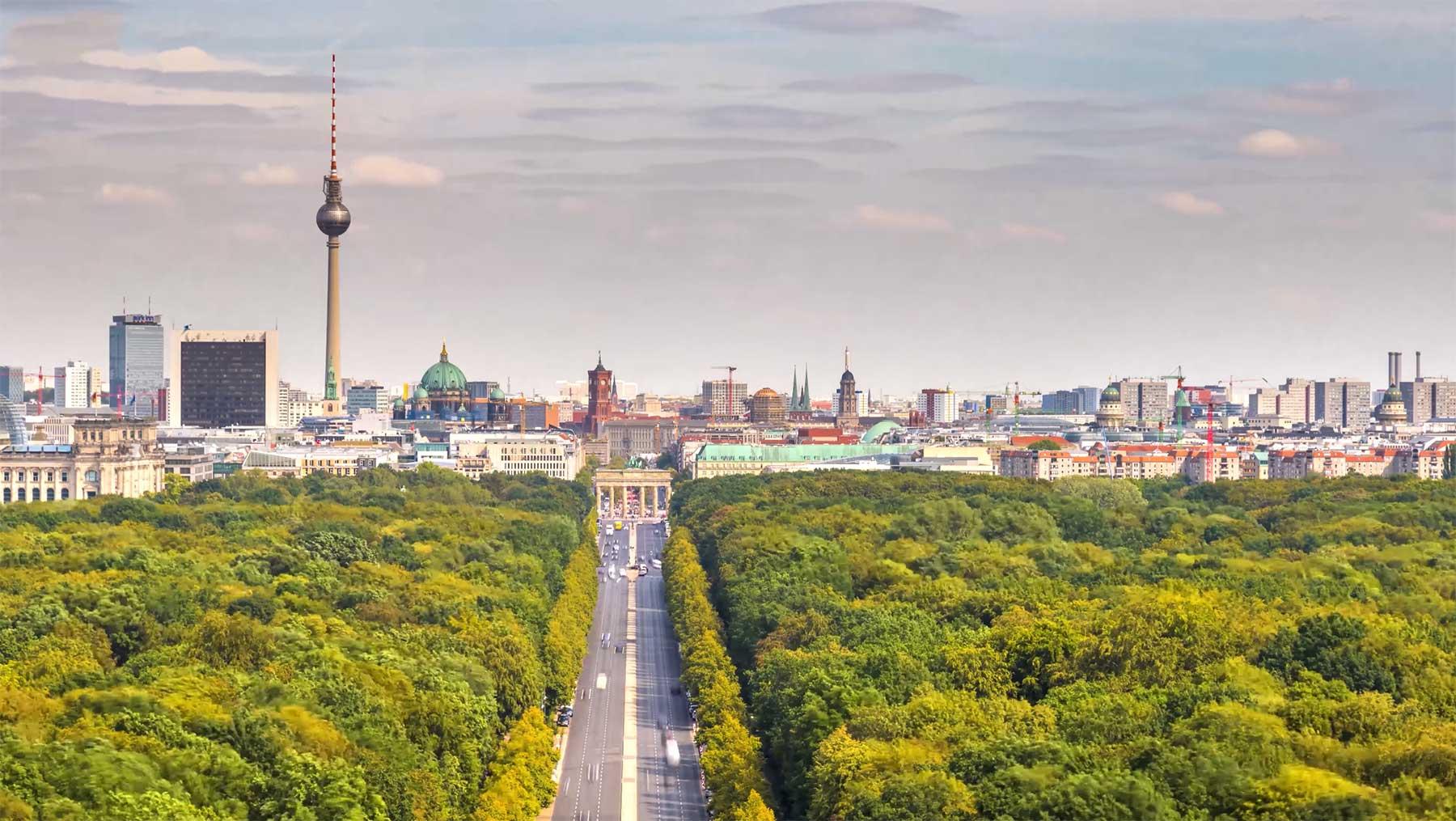 Berlin: Timelapse-Stadtportrait in 8K