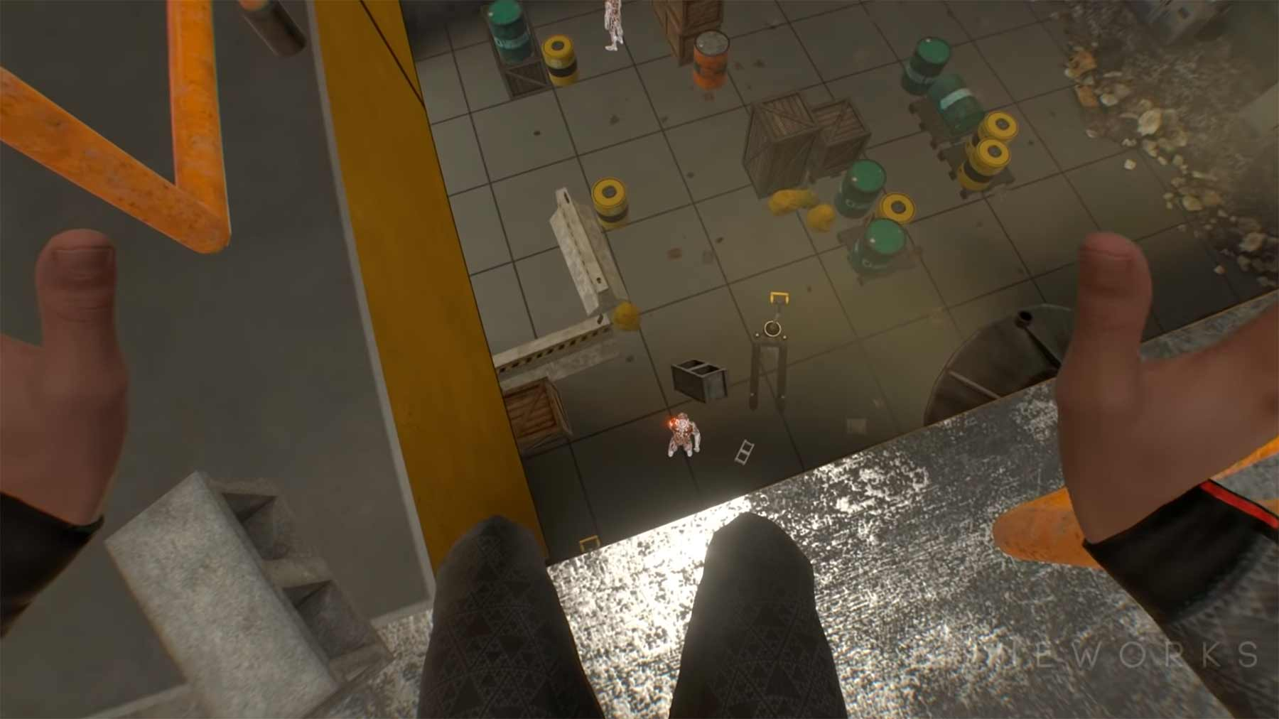 """Gameplay-Trailer zum VR-Spiel """"Boneworks"""""""