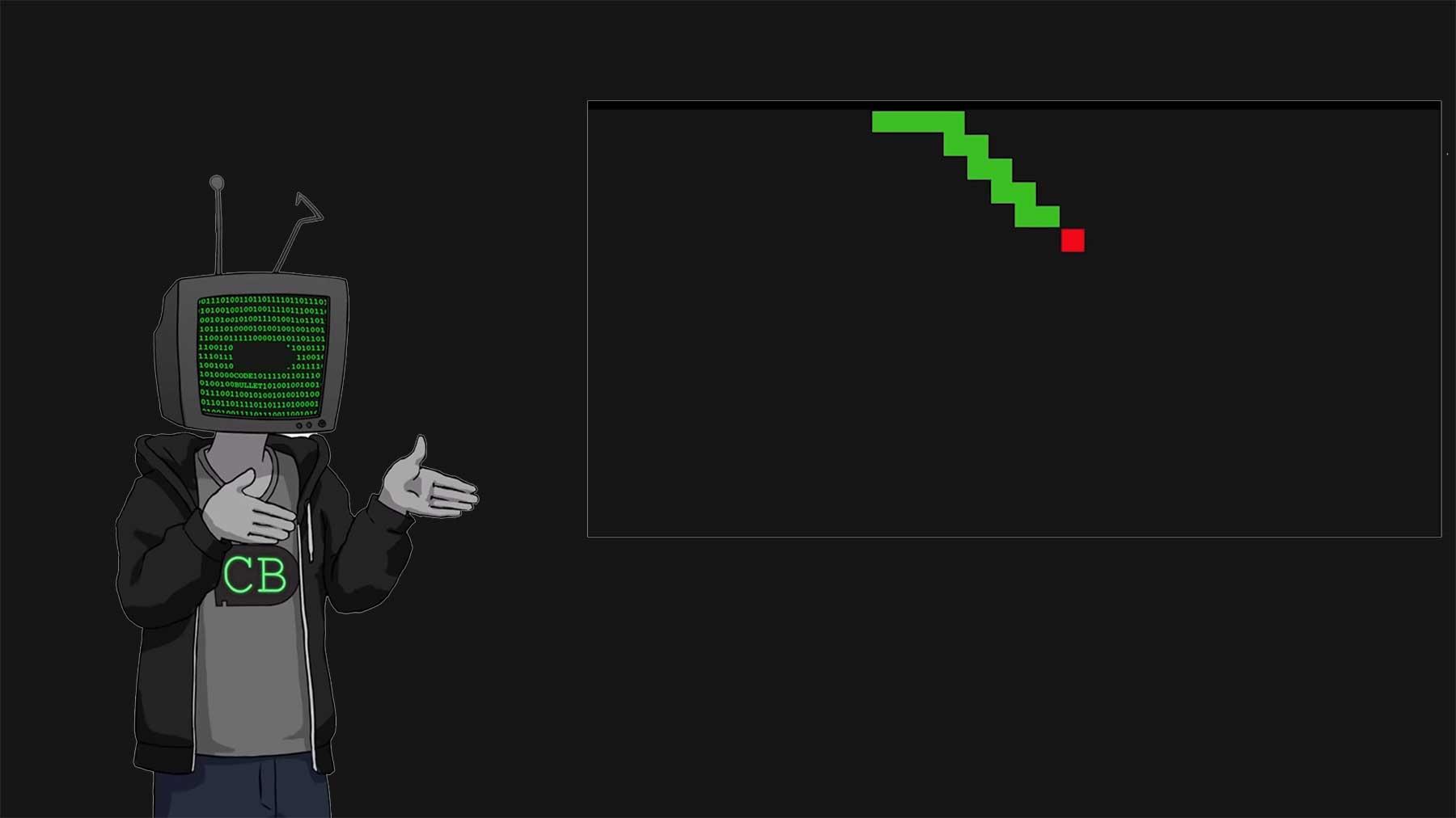 """Code Bullet und die Suche nach der perfekten """"Snake""""-AI"""