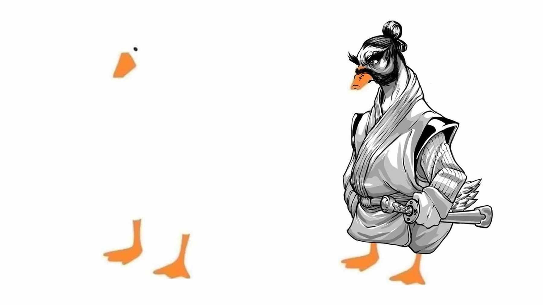 Wenn man das Internet bittet, eine Ente fertig zu zeichen