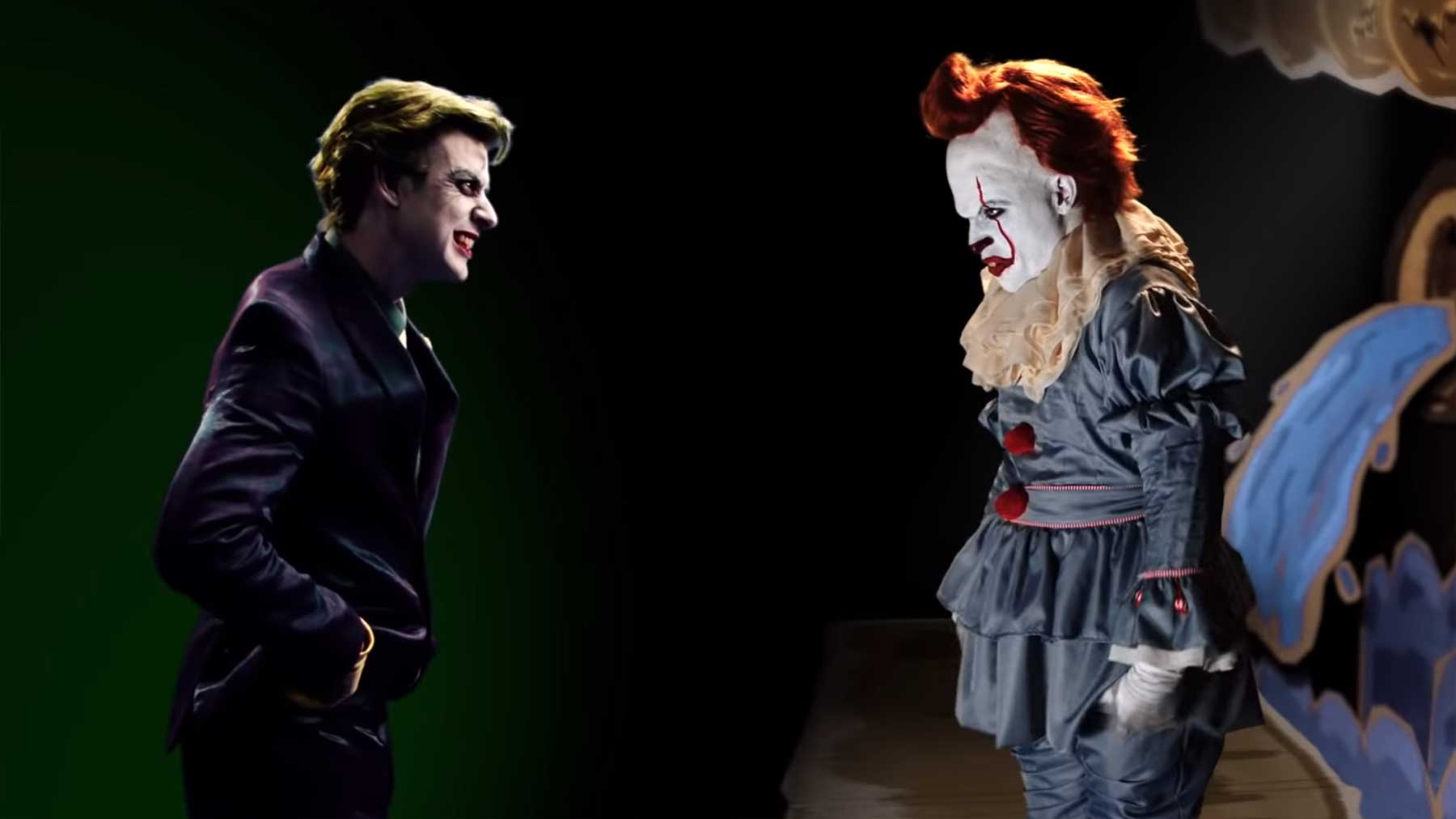 Epic Rap Battles Of History: The Joker vs Pennywise