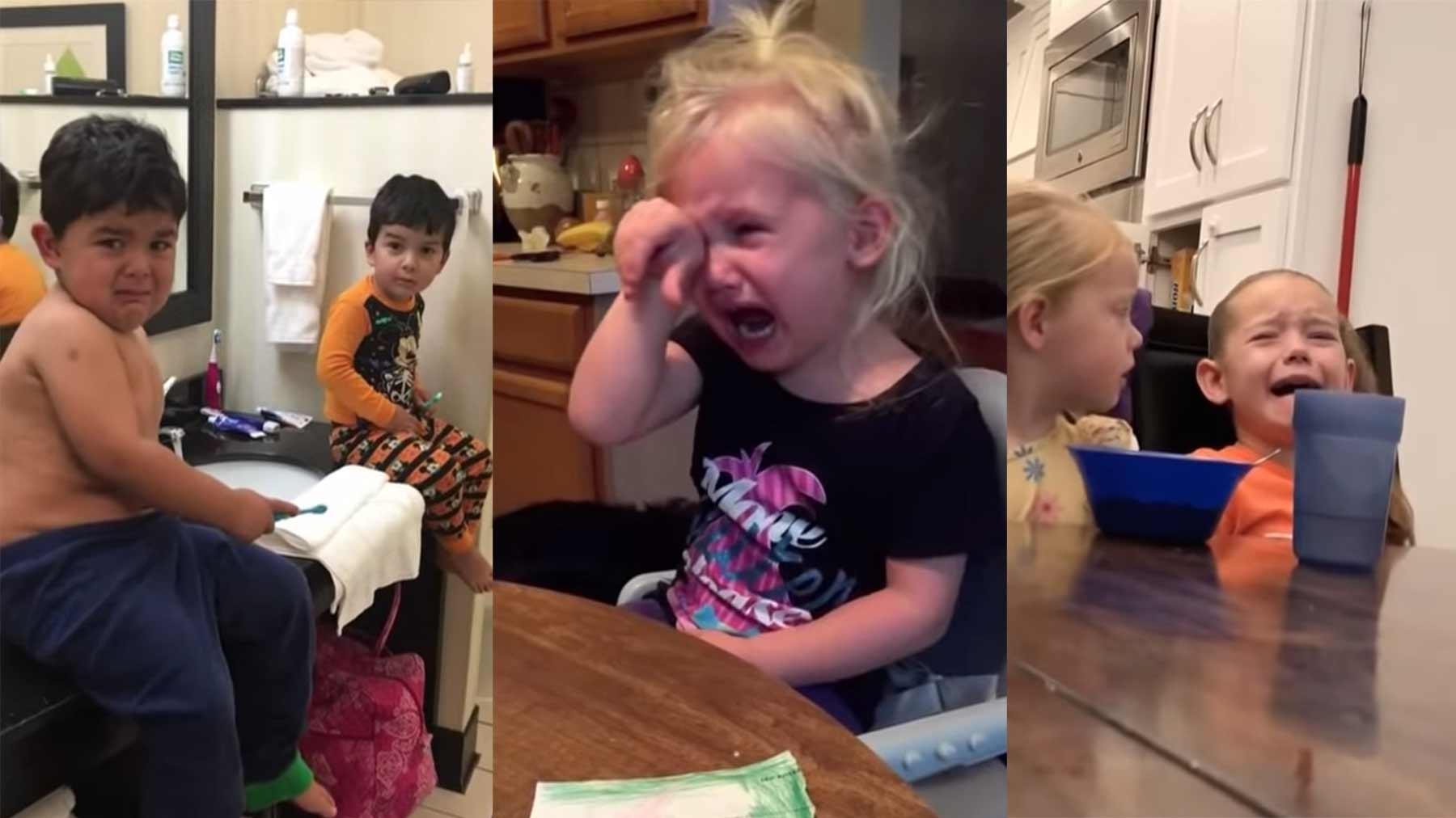 Eltern sagen Kindern, sie hätten alle Halloween-Süßigkeiten aufgegessen 2019