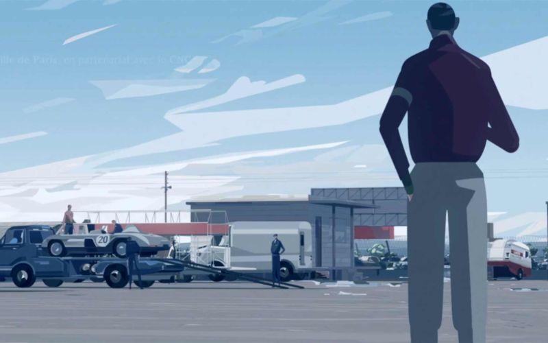 "Animierter Kurzfilm ""Le Mans 1955"""