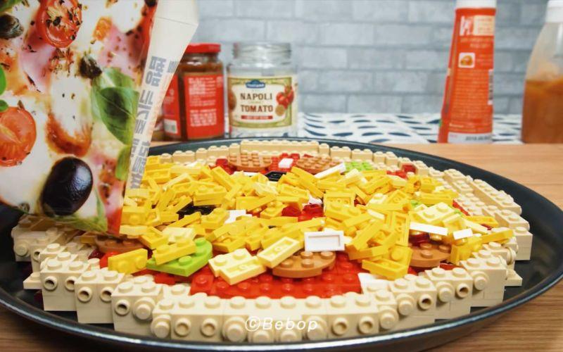LEGO-Stopmotion-Pizza