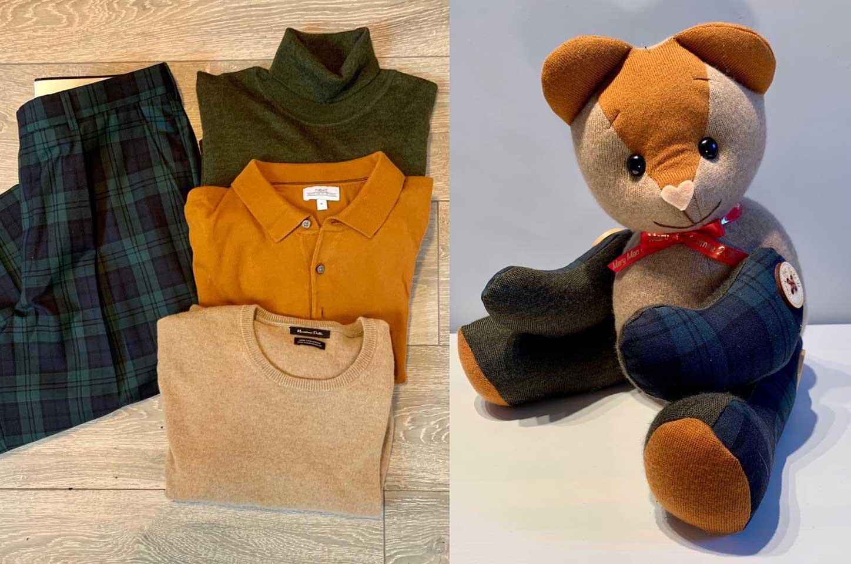 Teddybären aus der Kleidung geliebter Menschen mary-mac-teddybears_06
