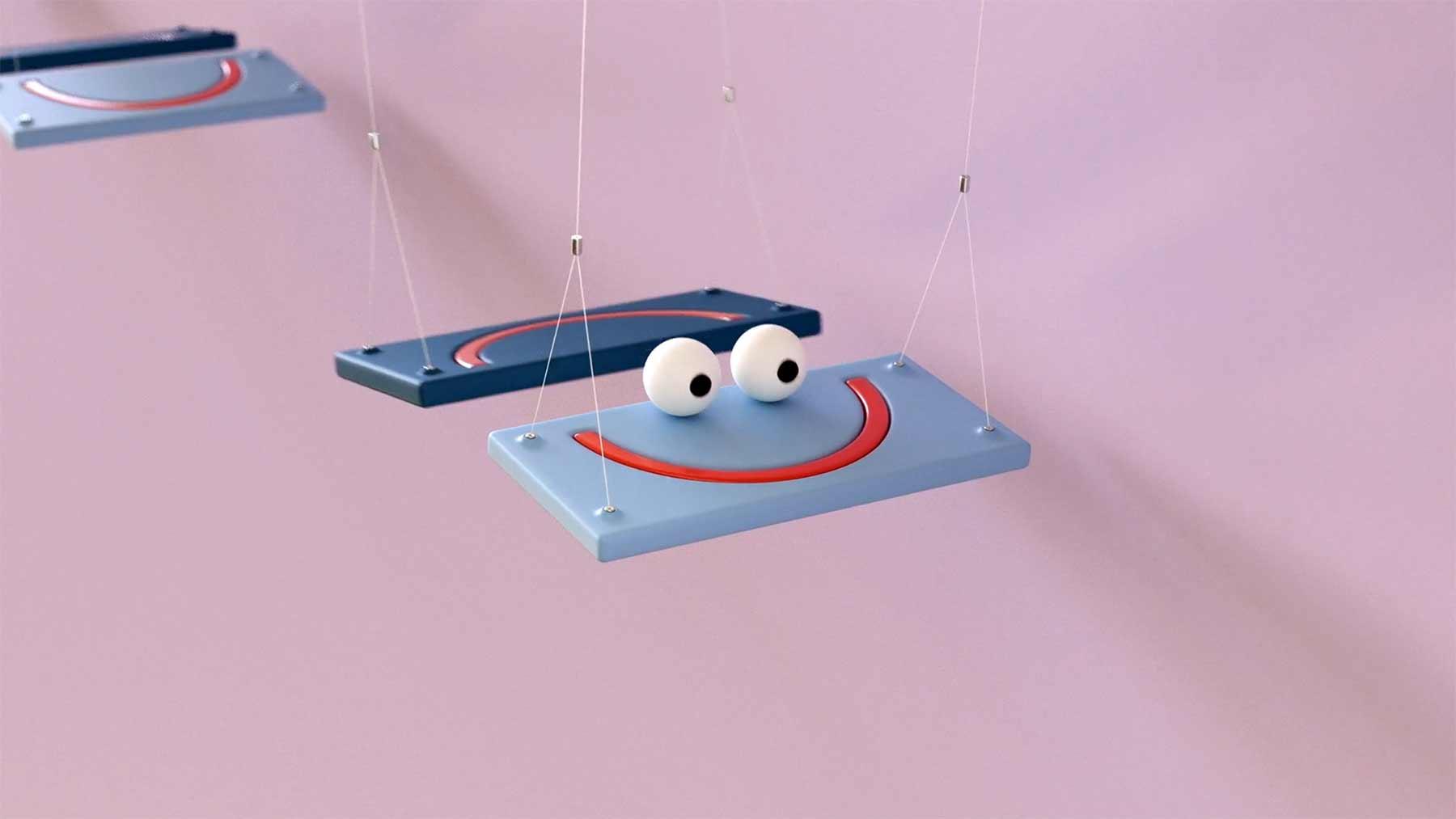 """Six Kinetic Characters""  von Lucas Zanotto mood-swings-Lucas-Zanotto"