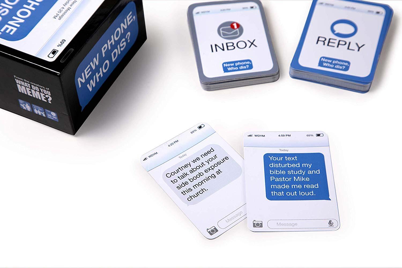"Karten-Partyspiel ""New Phone, Who Dis?"" new-phone-who-dis-gesellschaftskartenspiel_06"