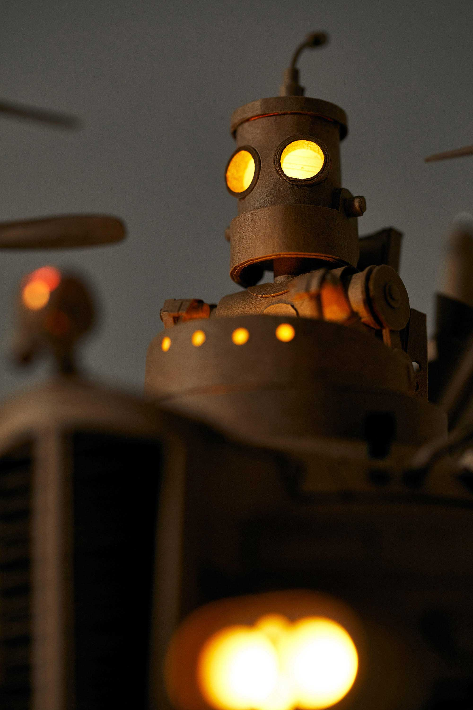 Papp-Steampunk-Roboter von Greg Olijnyk papproboter-Greg-Olijnyk_03