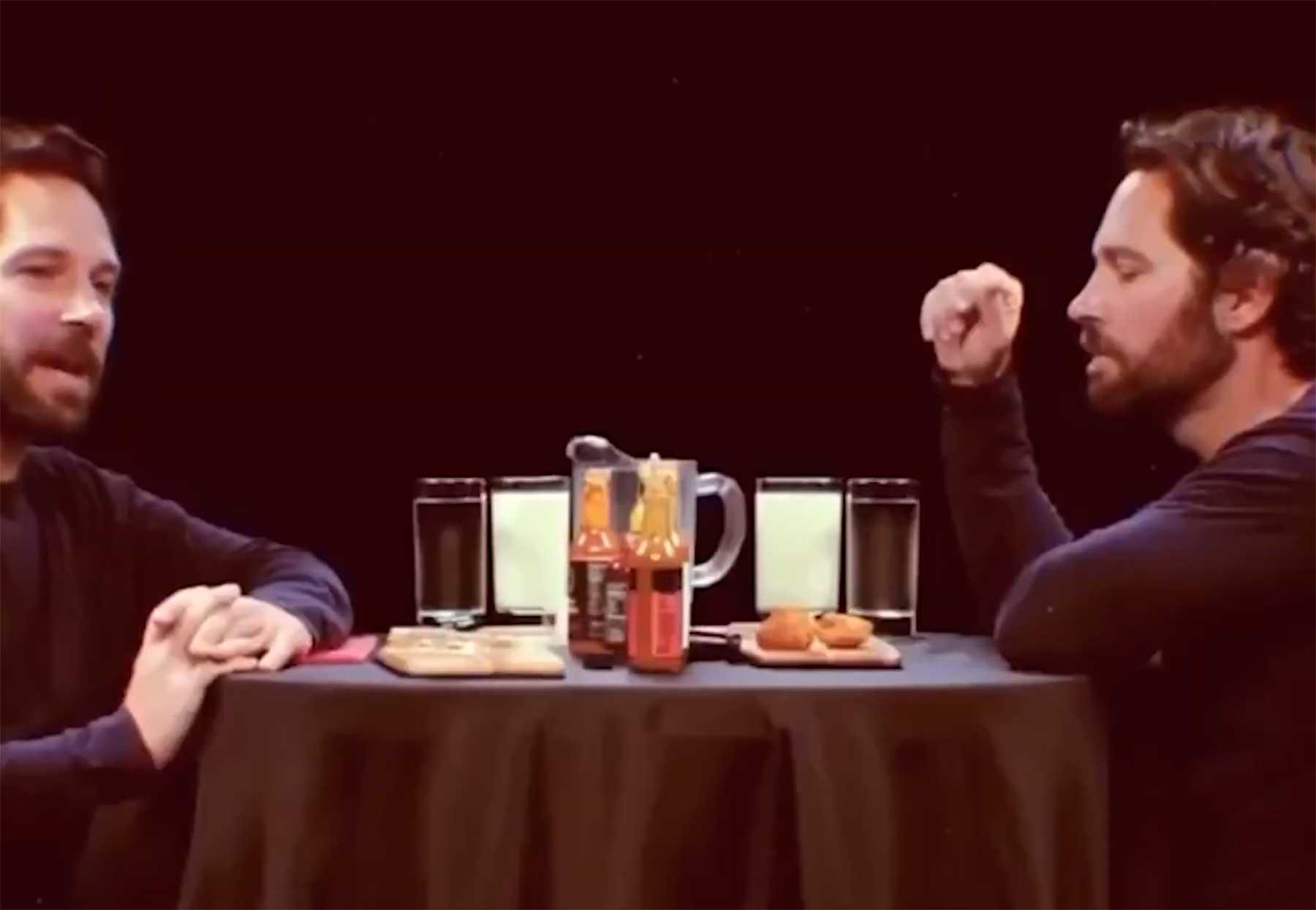 Paul Rudd interviewt sich selbst