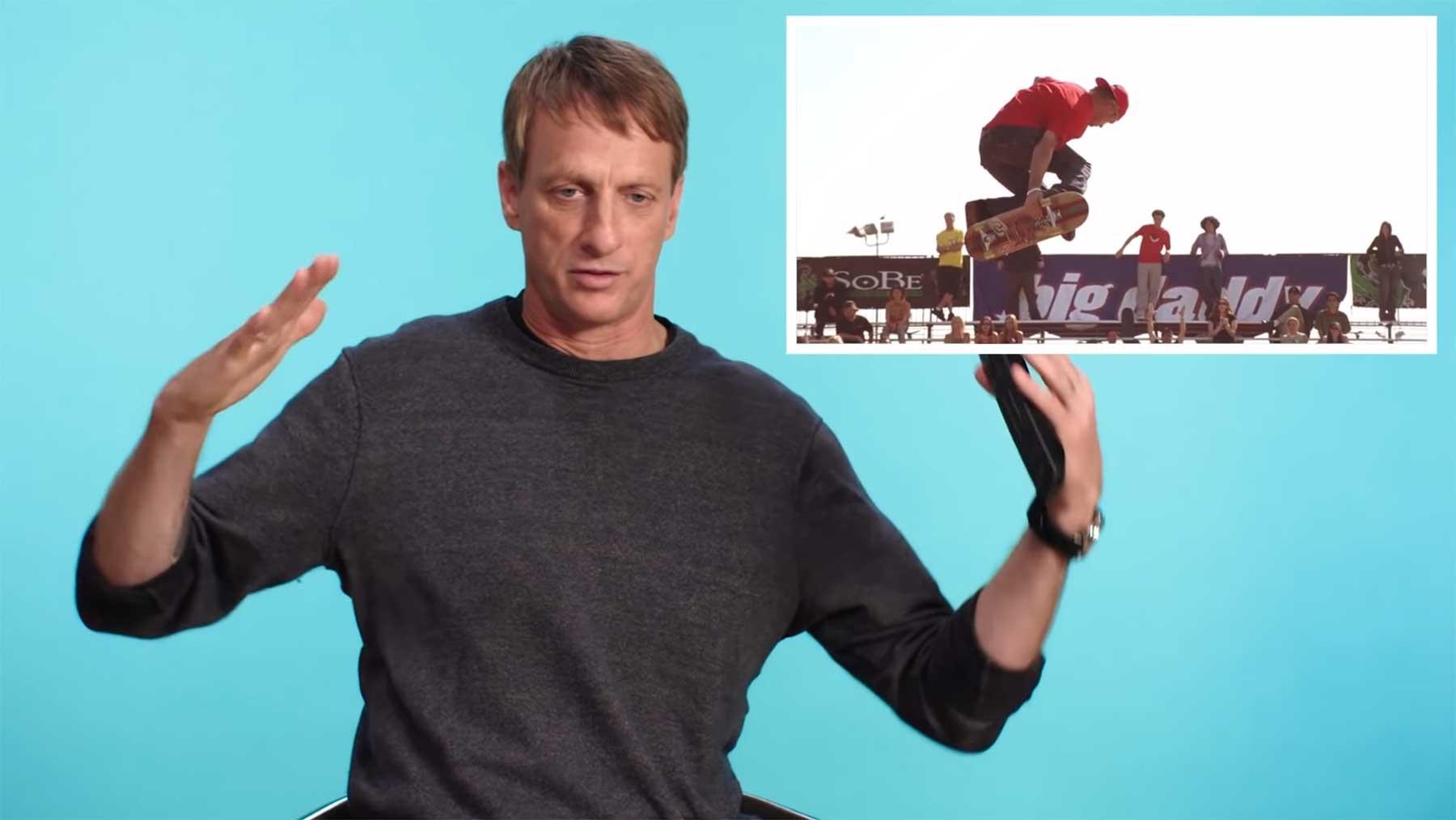 Tony Hawk beurteilt Skateboarding-Szenen in Filmen