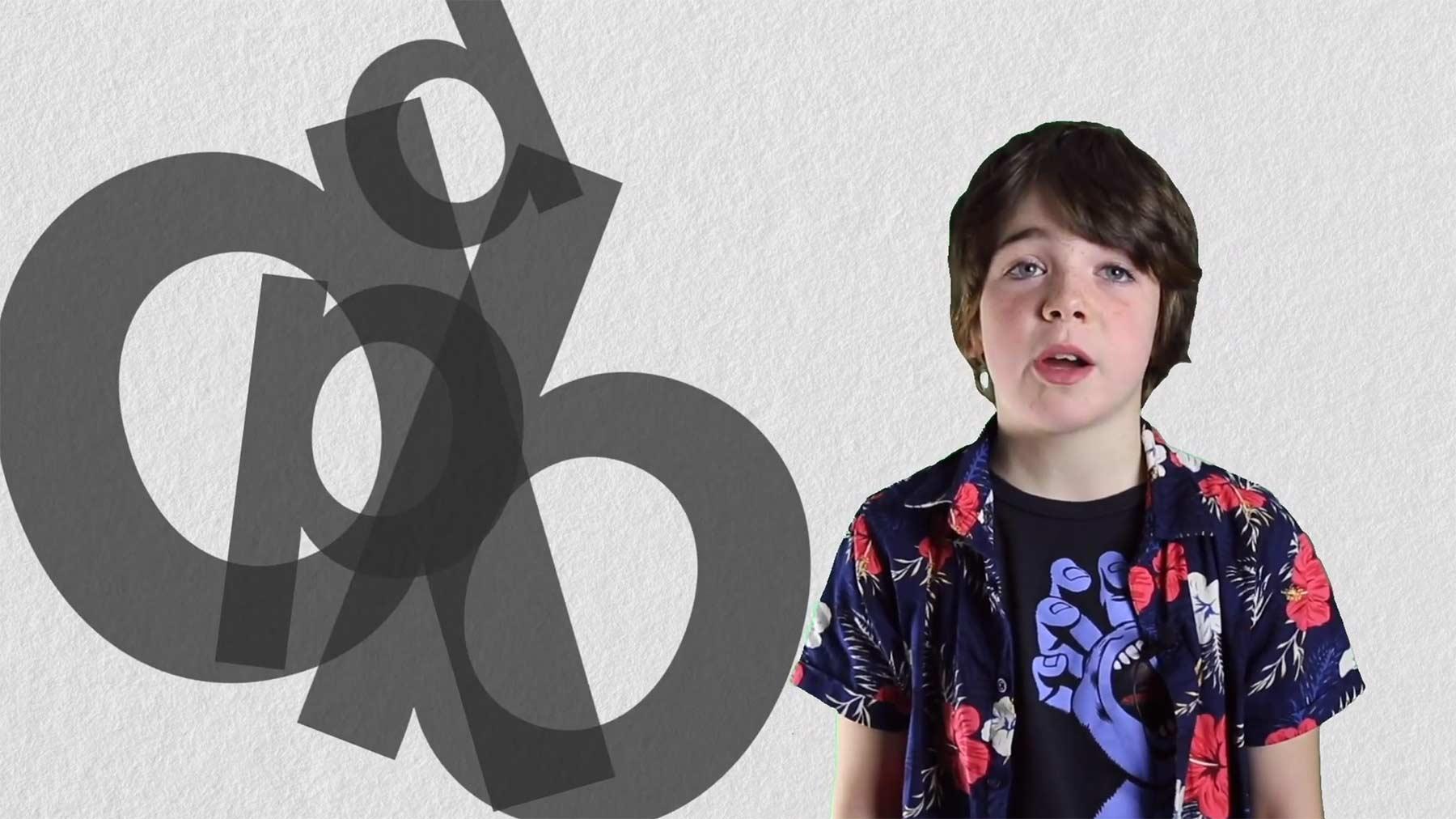 Kind erklärt Legasthenie in unterhaltsamer Schul-Präsentation video-ueber-Legasthenie
