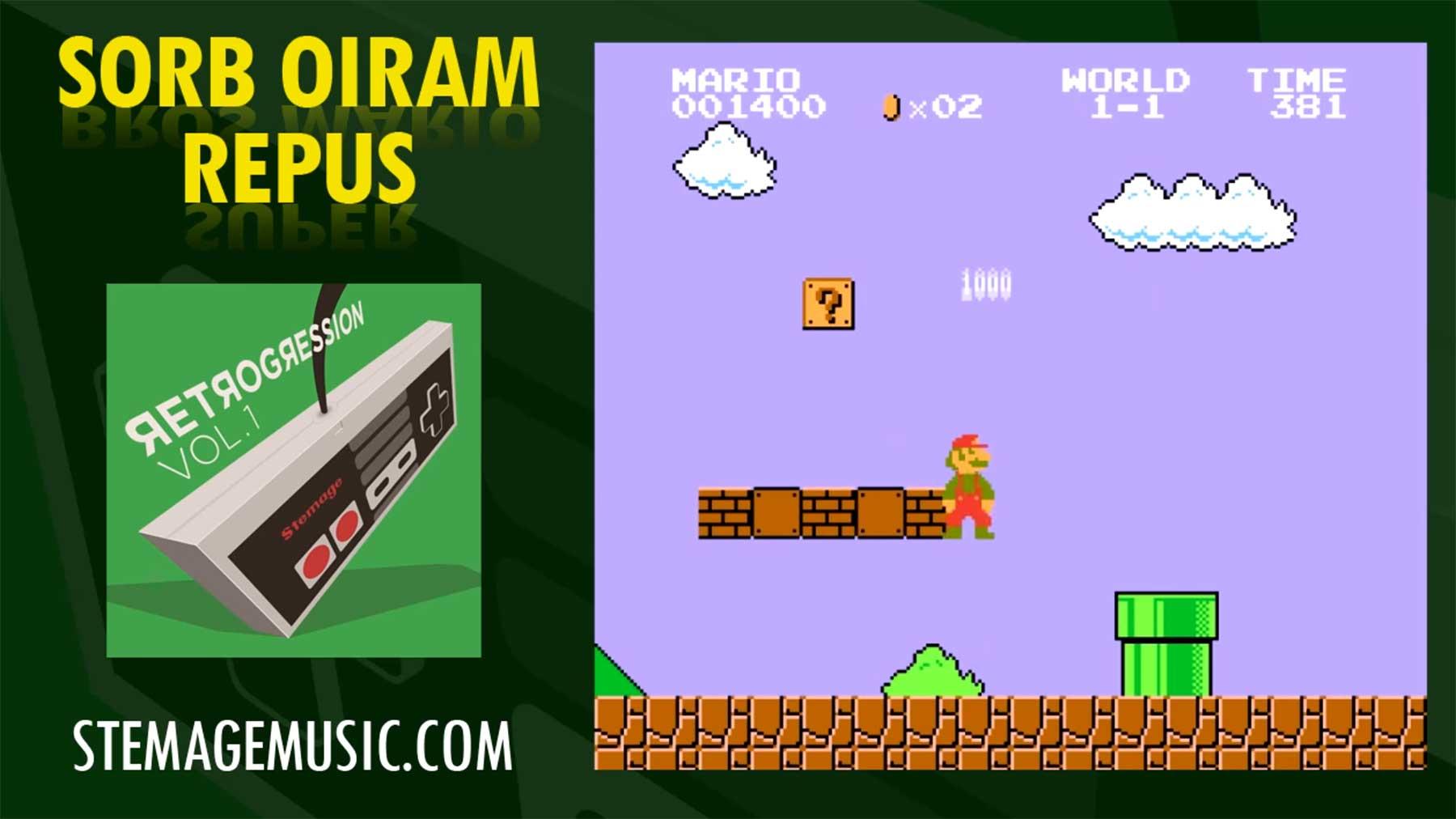 Rückwärts gespielte Videospielmelodien