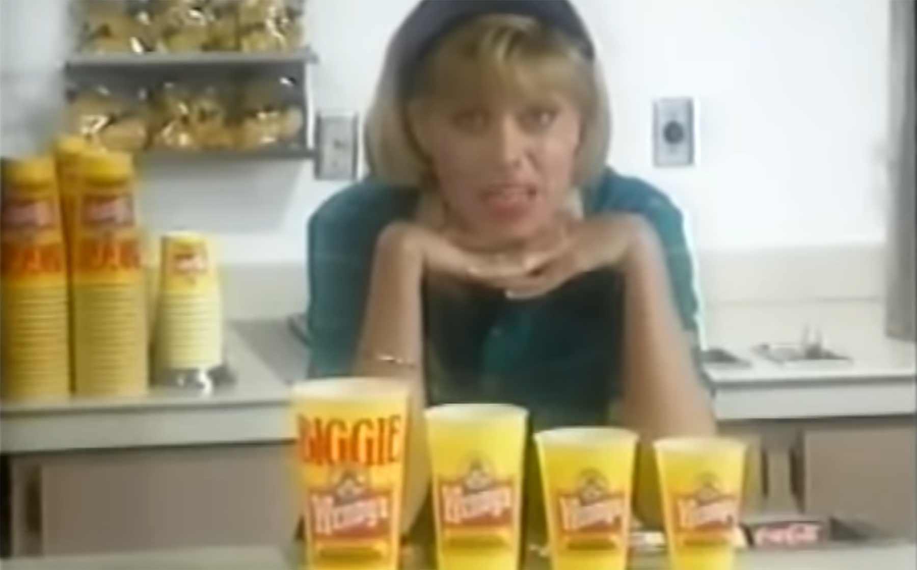 Alte Trainingsvideos zu Getränken bei Wendy's