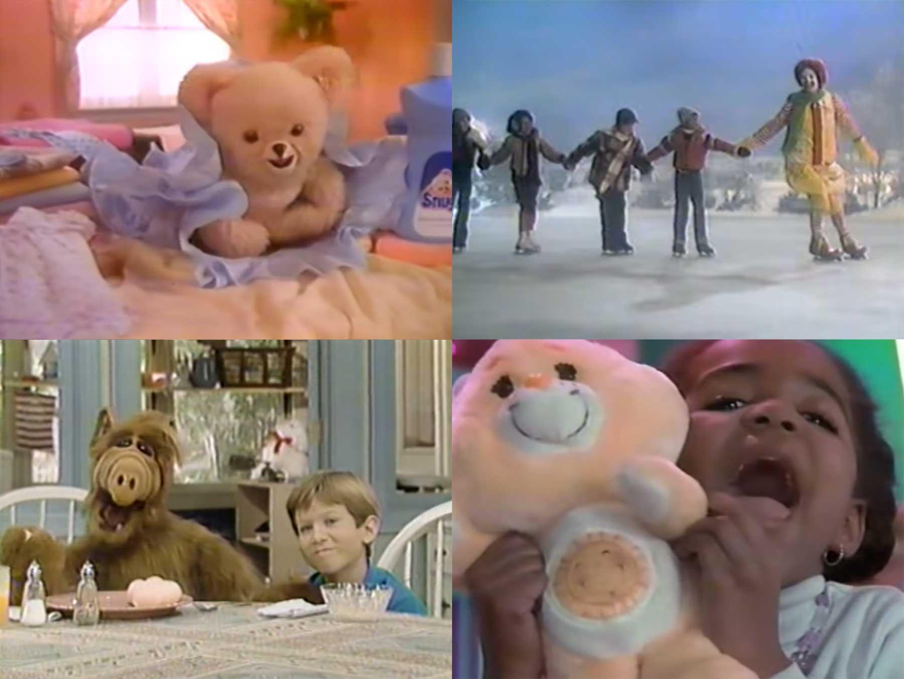4 Stunden TV-Werbespots aus den 80er & 90er Jahren