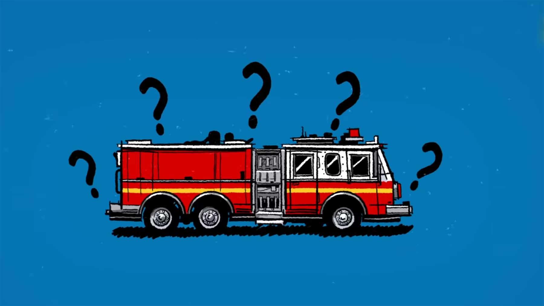 Warum sind Feuerwehrautos eigentlich rot?