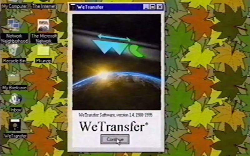 Wenn es WeTransfer in den 90ern gegeben hätte