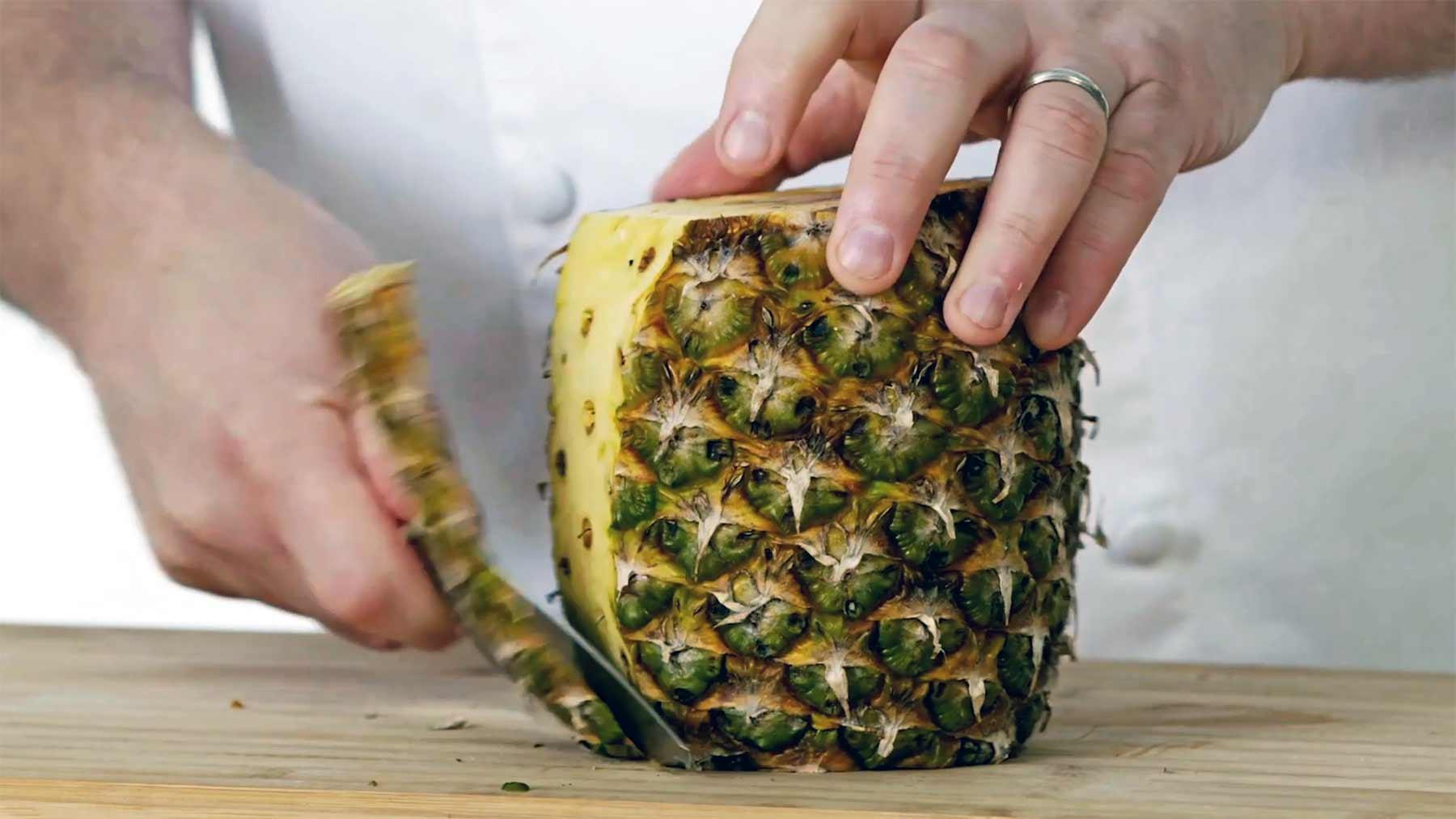 Wie man alle Früchte richtig schneiden kann
