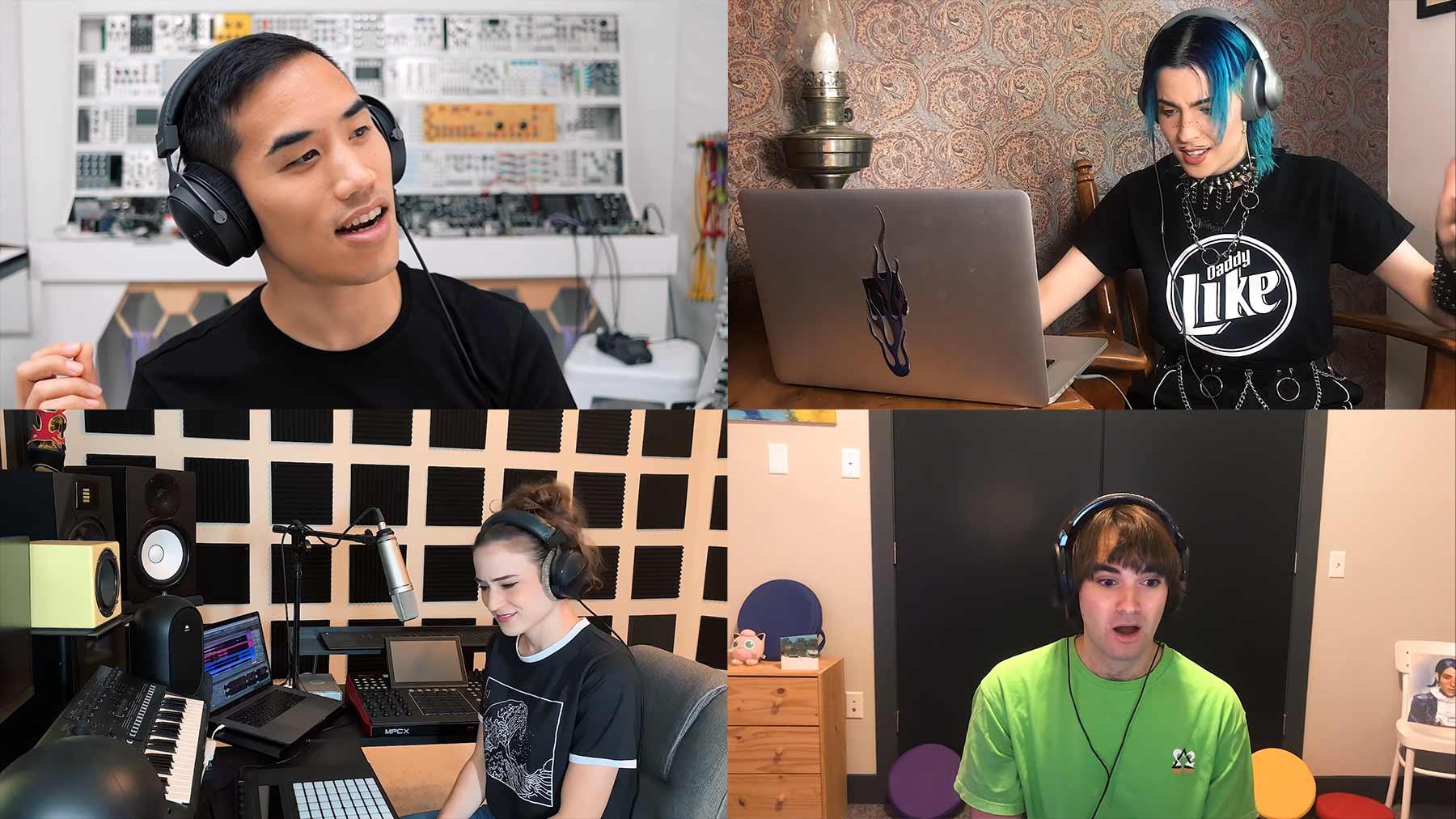 4 MusikproduzentInnen 1 Sample #5