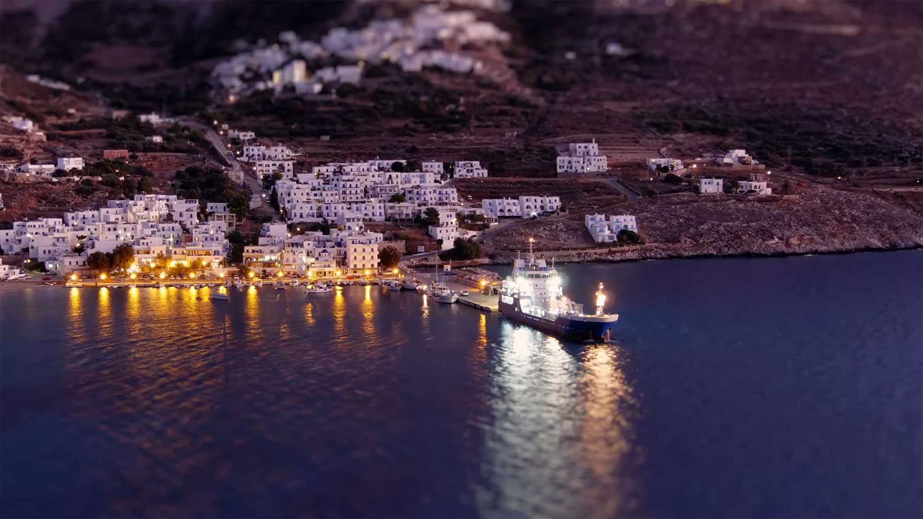"Tilt-Shift: ""Amazing Amorgos"""