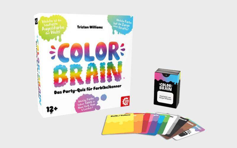 "Gesellschaftsspiel-Tipp: ""Color Brain"" Testbericht"