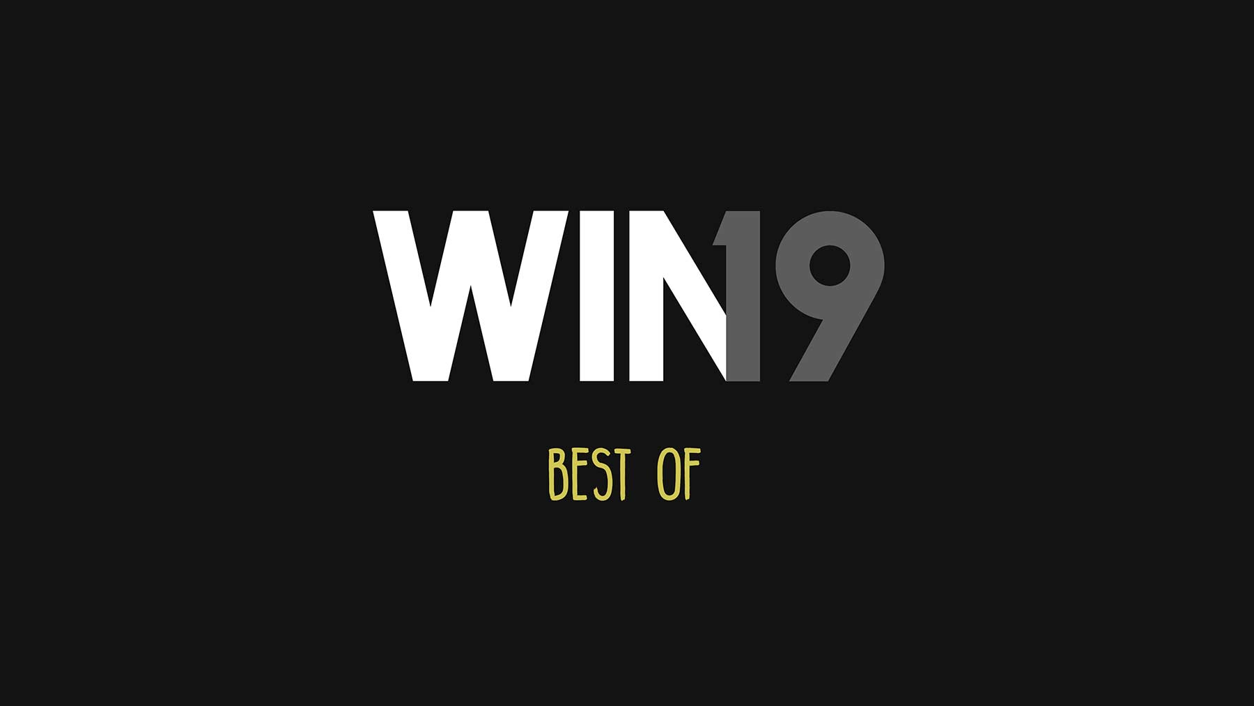 WIN Compilation: Best of 2019 WIN_2019-best-of