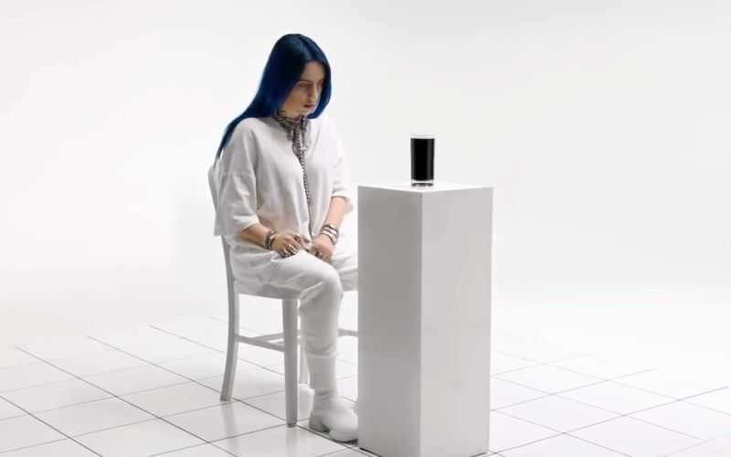 "Musicless Musikvideo: Billie Eilish – ""When the Party's Over"""