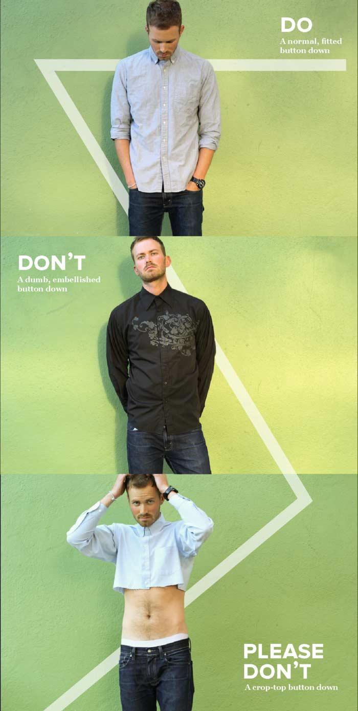 """Die Dos, Don'ts und """"Oh God, Please Don'ts"""" der Männer-Fashion dos-donts-please-donts-fashion_02"""