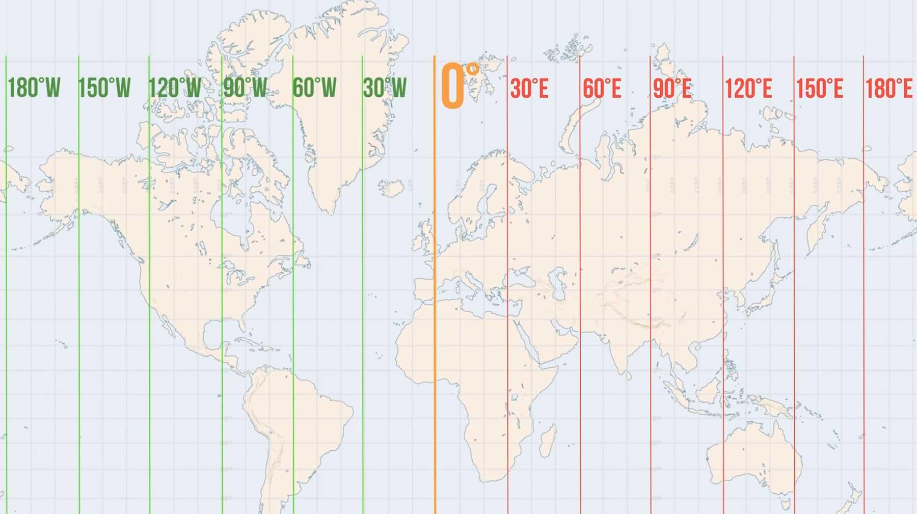 Wieso ist England eigentlich Mittelpunkt der Weltkarte?