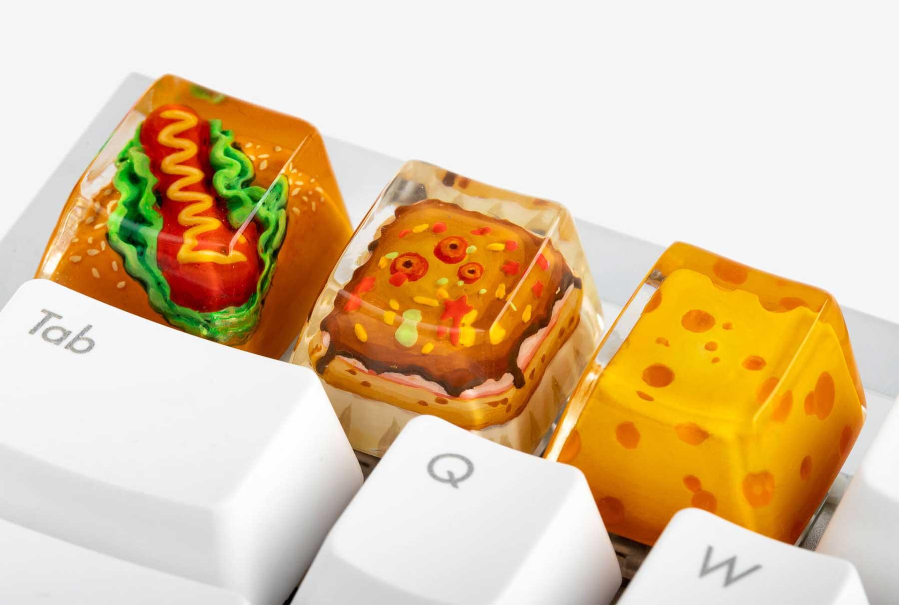 Essens-Tastatur-Tasten