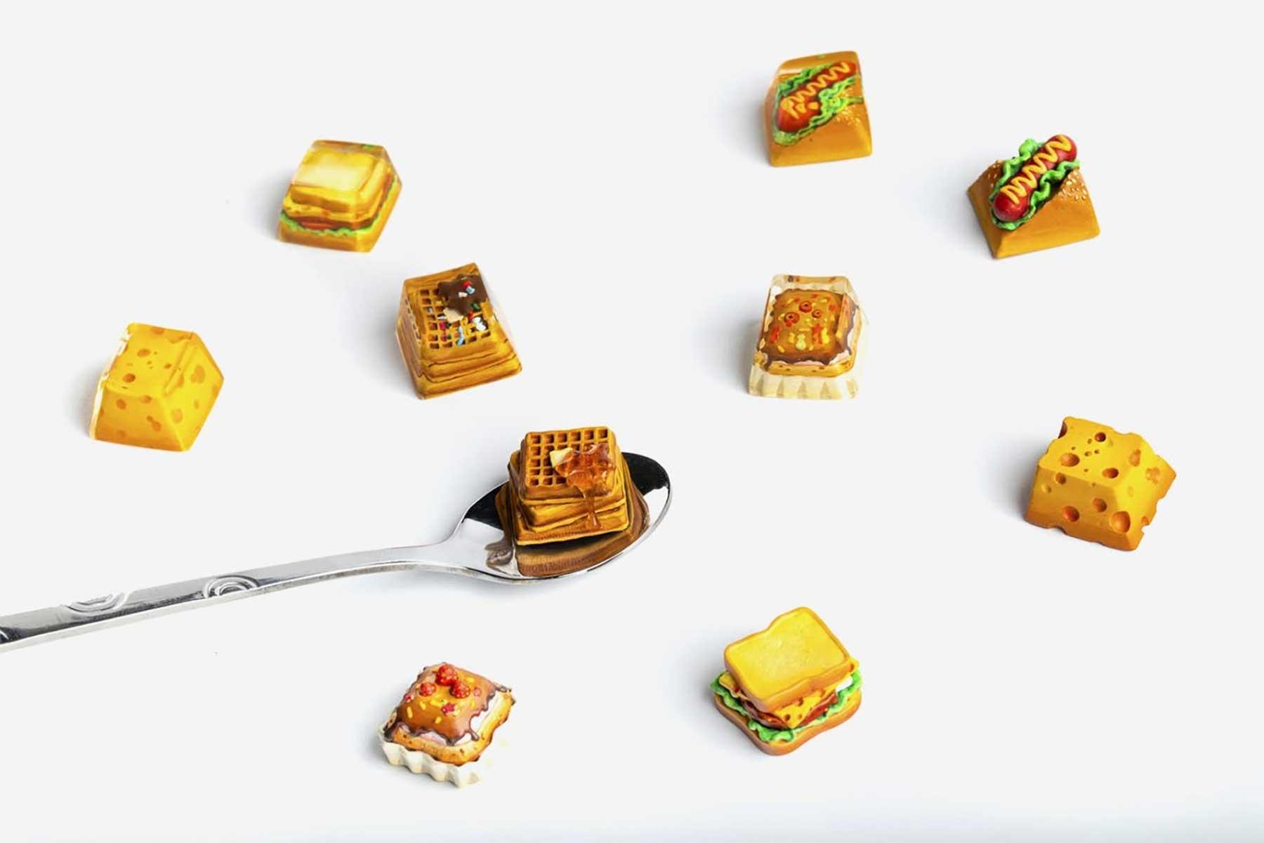 Essens-Tastatur-Tasten foodie-tastaturtasten-keycap_10