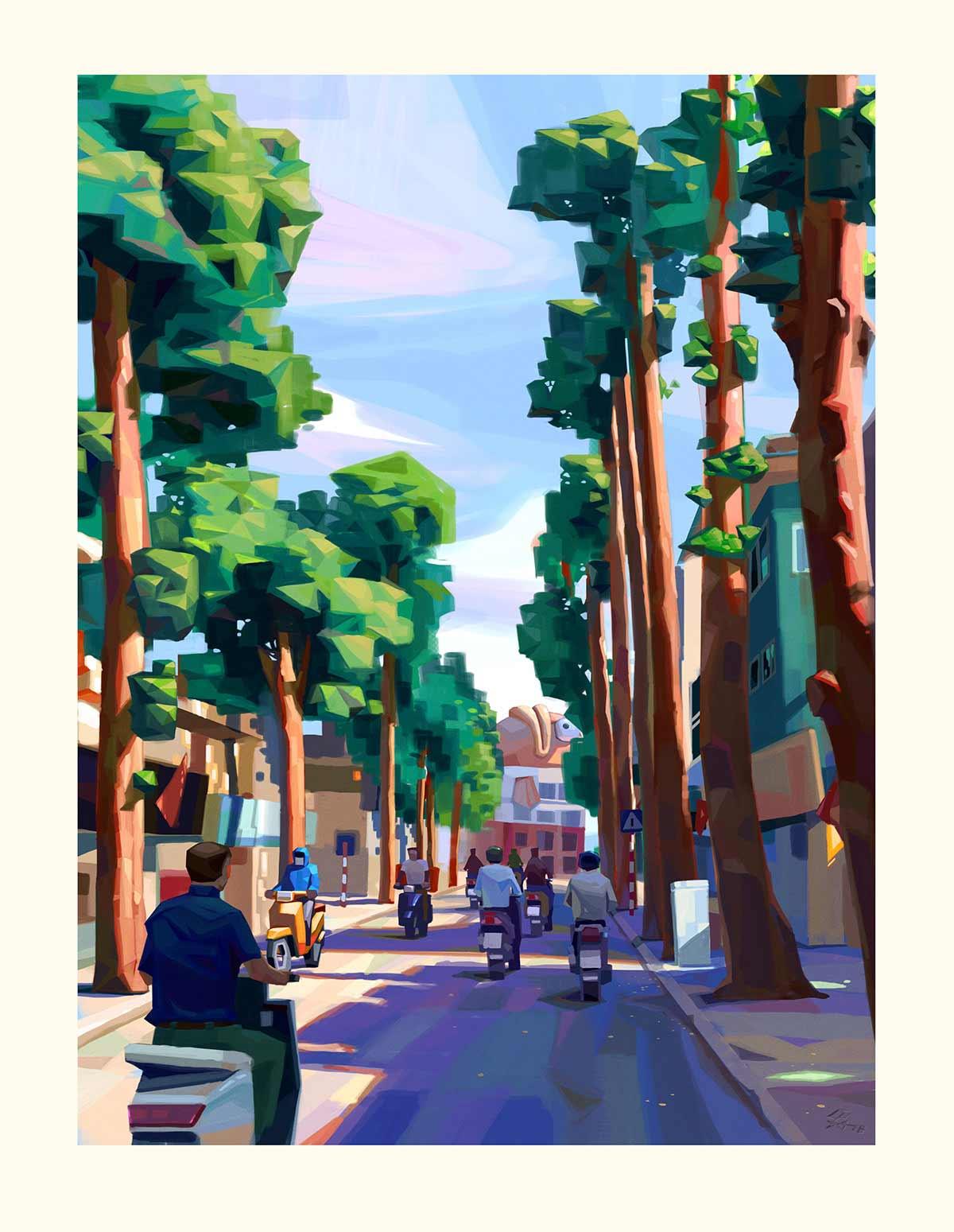 Digital Paintings: Lê Long le-long-digital-paintings_10