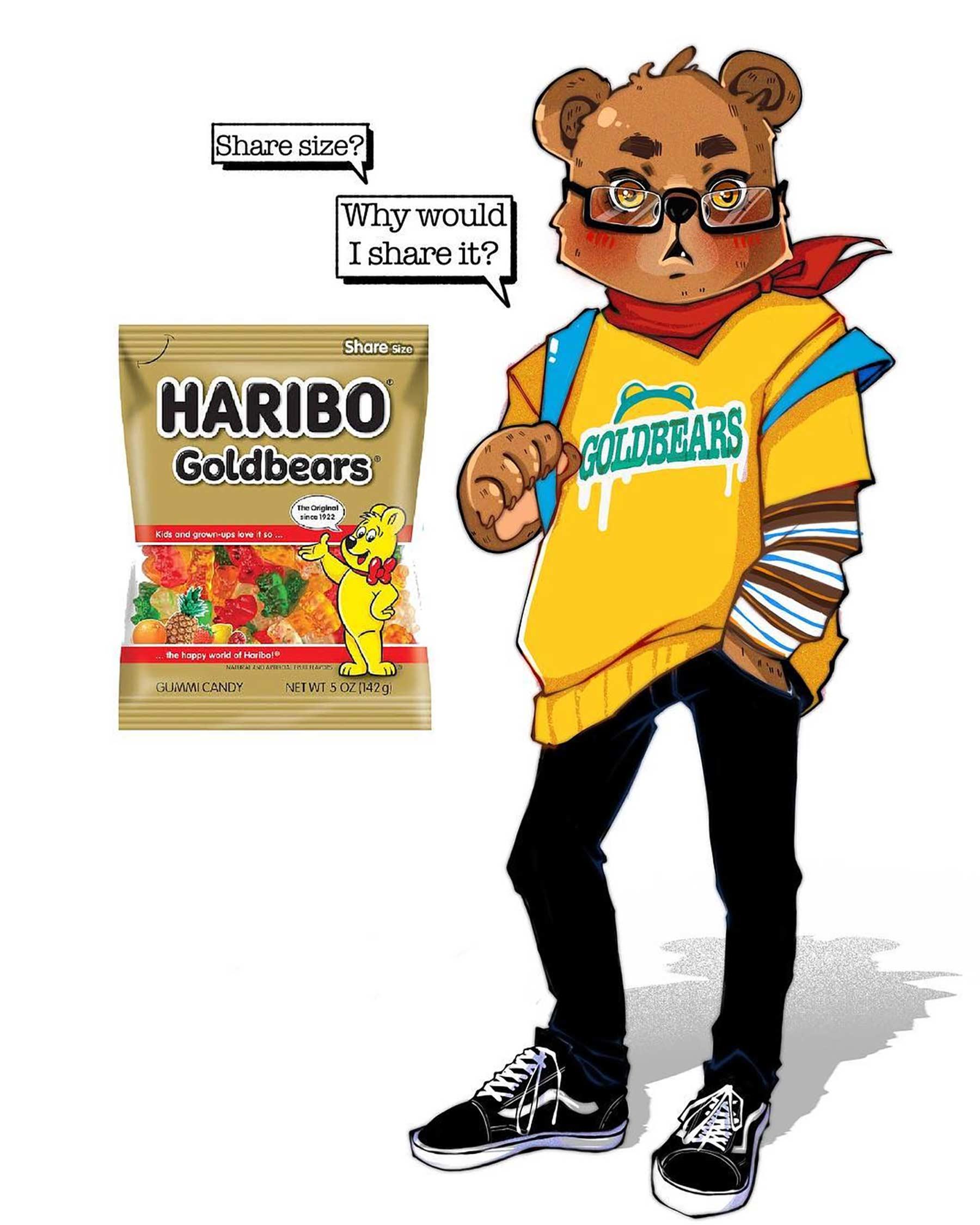 Wenn Snacks Menschen wären lyra-art-food-characters_07