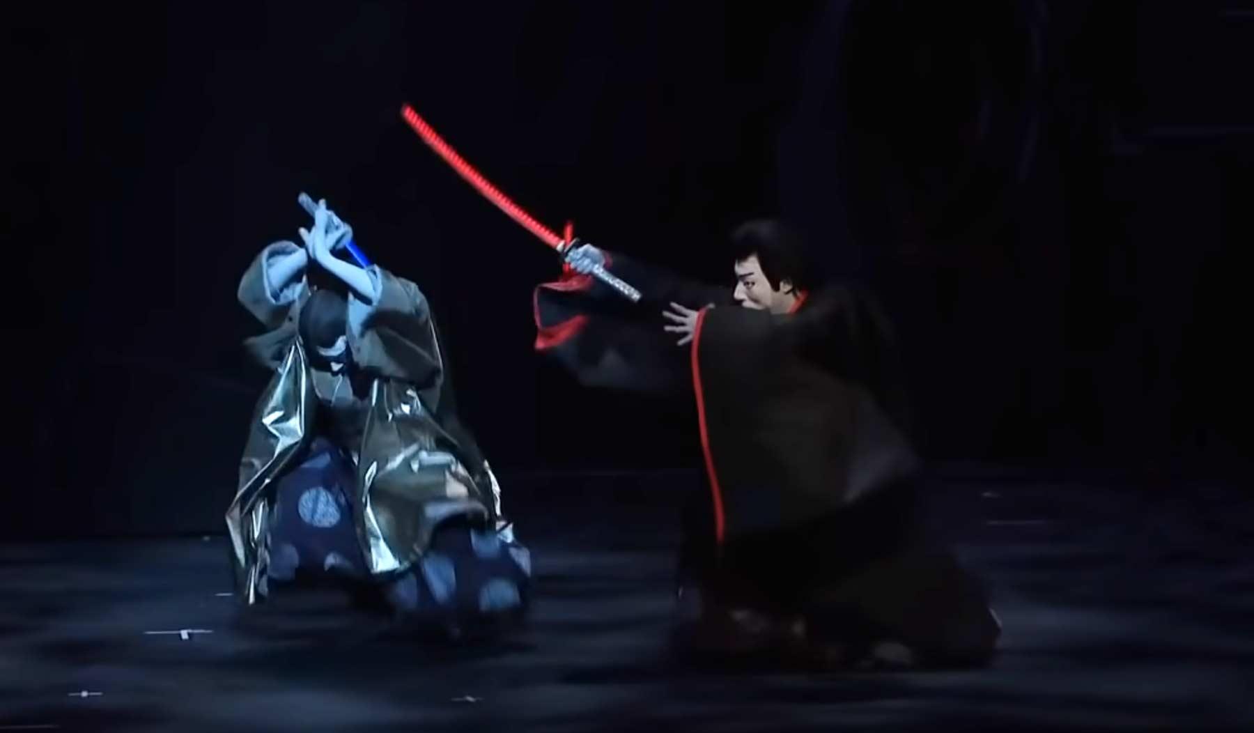 """""""Star Wars"""" als japanische Theater-Aufführung star-wars-kabuki-japanisches-theaterstueck"""