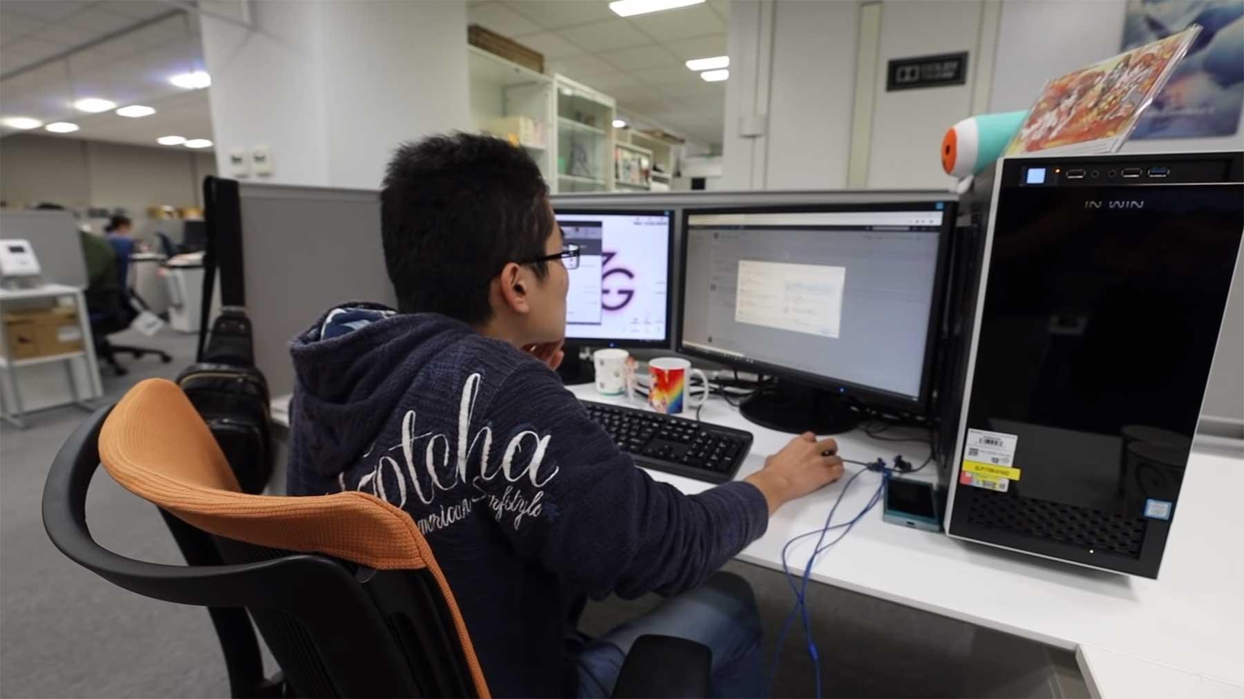 Ein Tag mit einem japanischen Videospiel-Programmierer