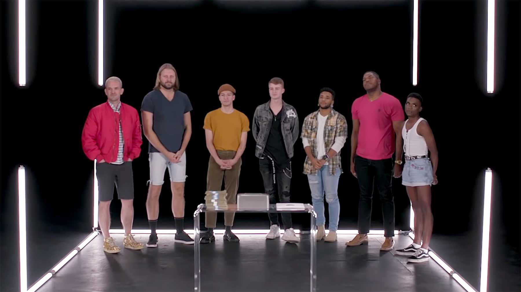 Wer ist der geheime Heterosexuelle unter diesen 7 angeblichen Homo-Männern? wer-ist-heterosexuell