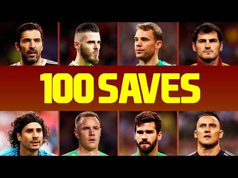 Die 100 besten Torwart-Paraden im Fußball des letzten Jahrzehnts