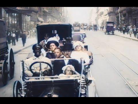 Colorierte Video-Aufnahmen zeigen Manhattan im Jahr 1911