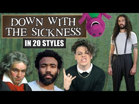 """Disturbed – """"Down With The Sickness"""" in 20 Styles"""