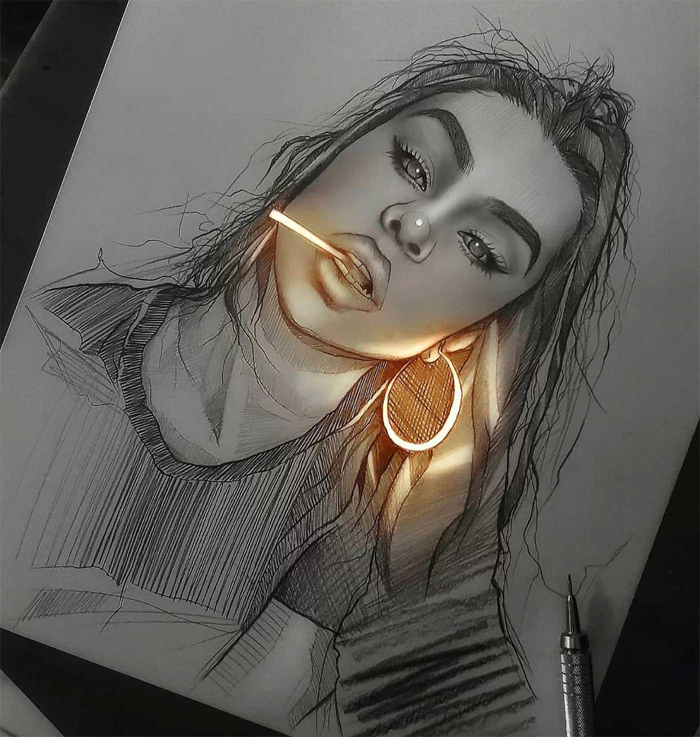 Zeichnungen von Enrique Bernal Enrique-Bernal-lichtzeichnungen_02