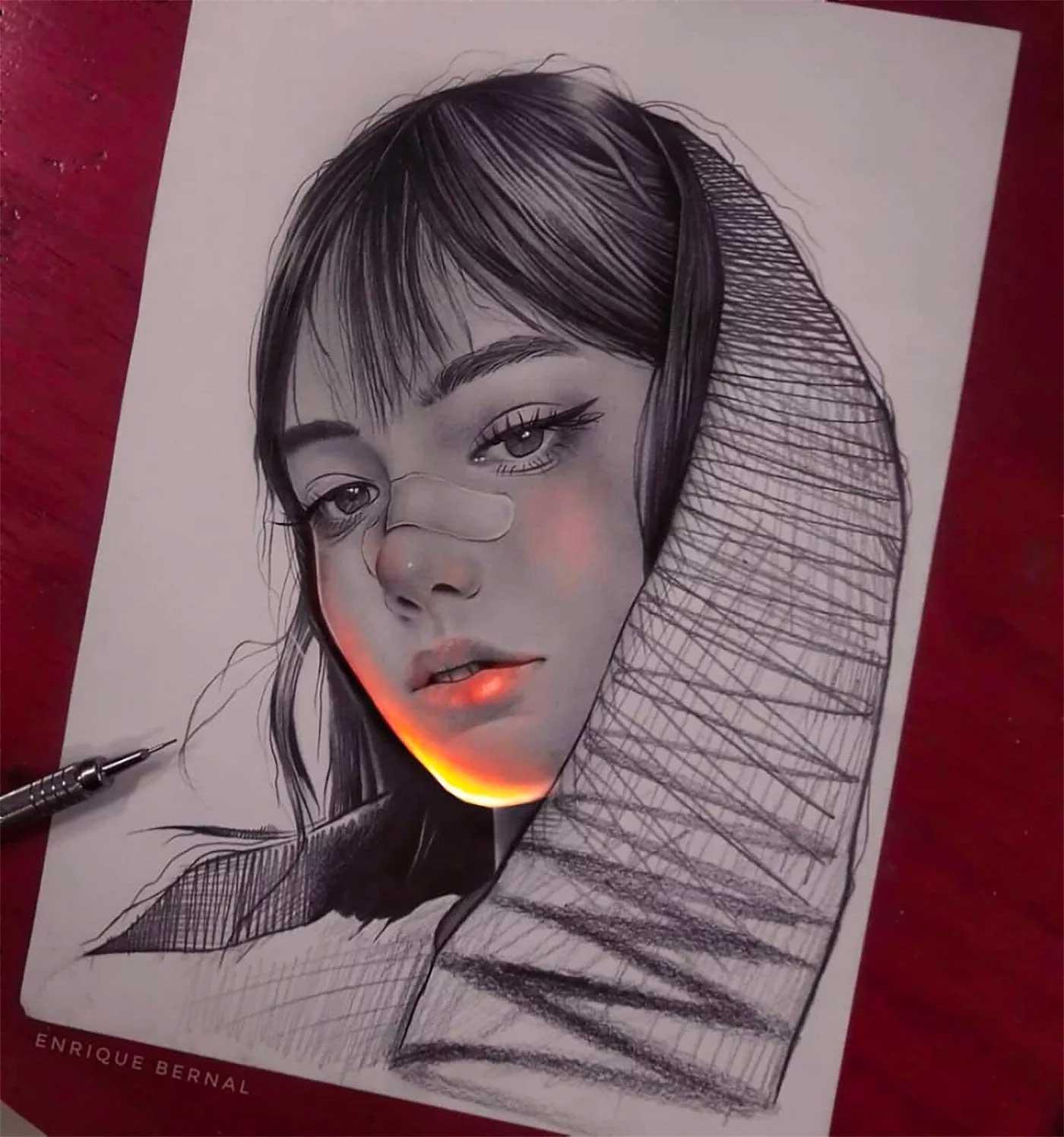 Zeichnungen von Enrique Bernal Enrique-Bernal-lichtzeichnungen_03