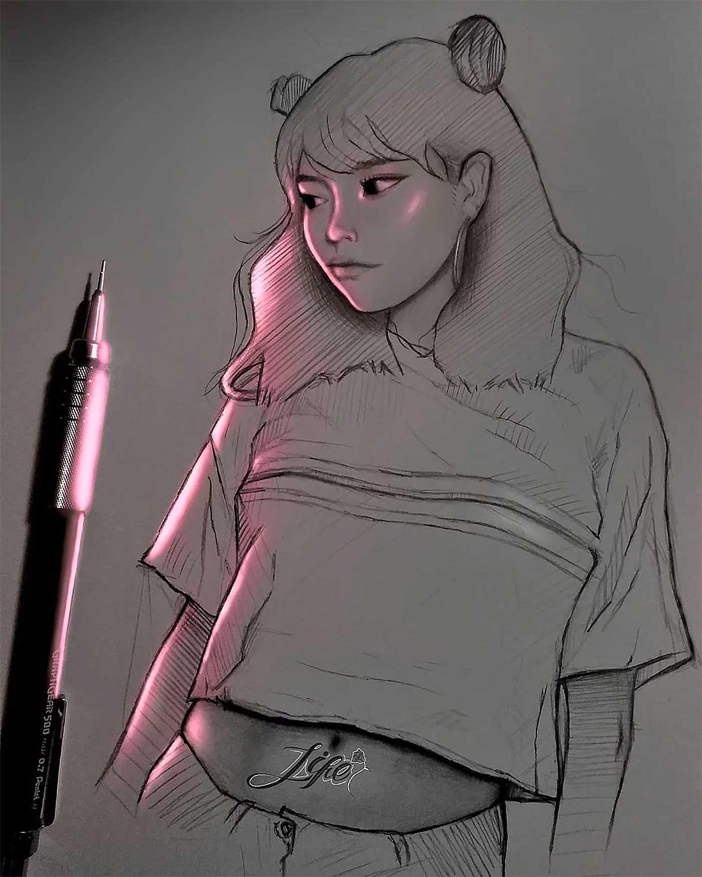 Zeichnungen von Enrique Bernal Enrique-Bernal-lichtzeichnungen_04