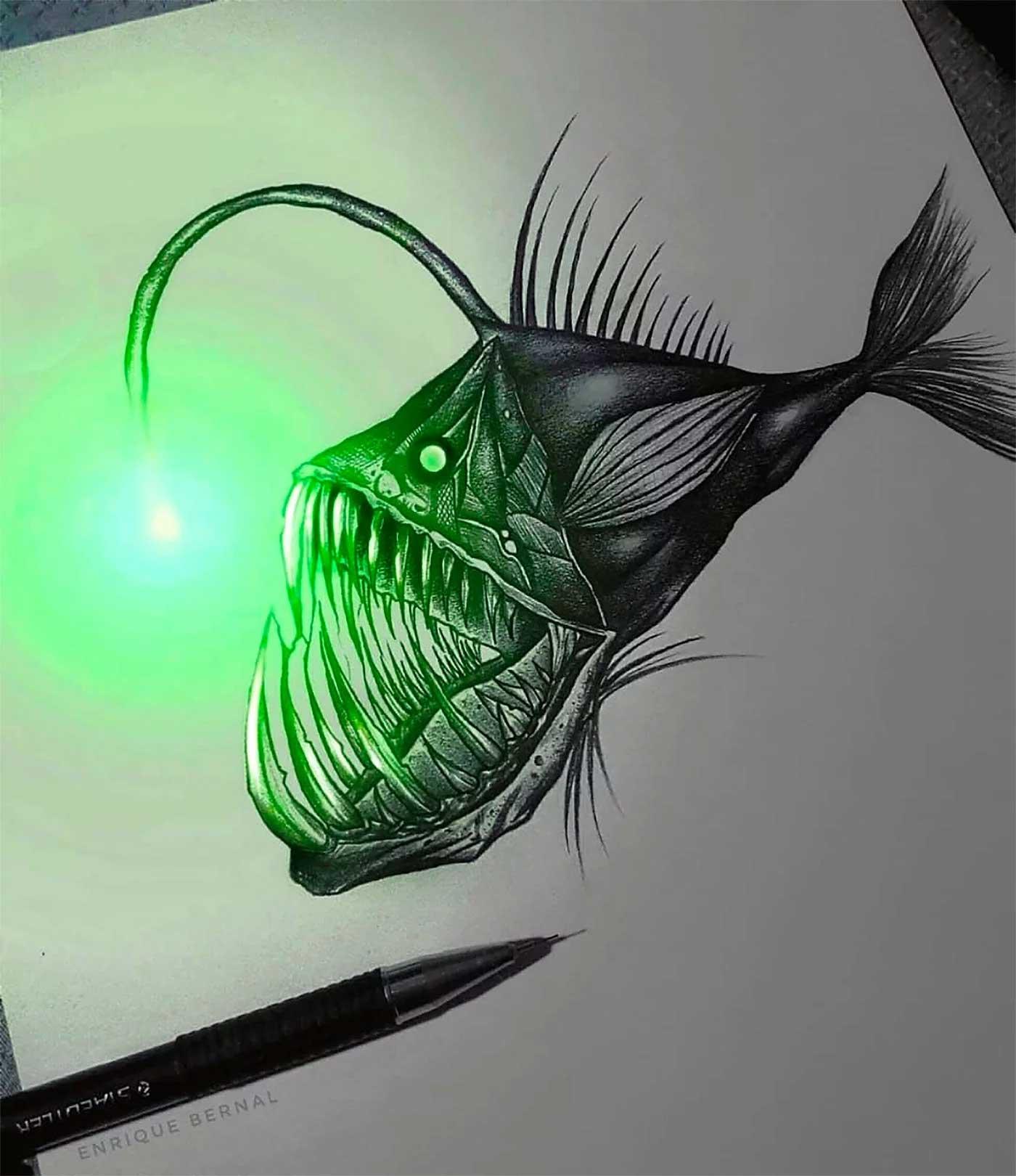 Zeichnungen von Enrique Bernal Enrique-Bernal-lichtzeichnungen_05