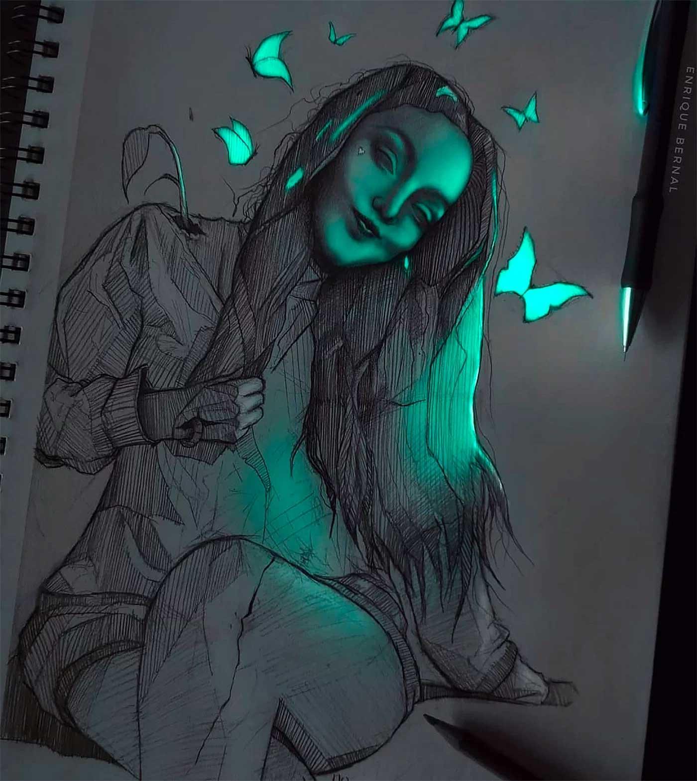 Zeichnungen von Enrique Bernal Enrique-Bernal-lichtzeichnungen_08
