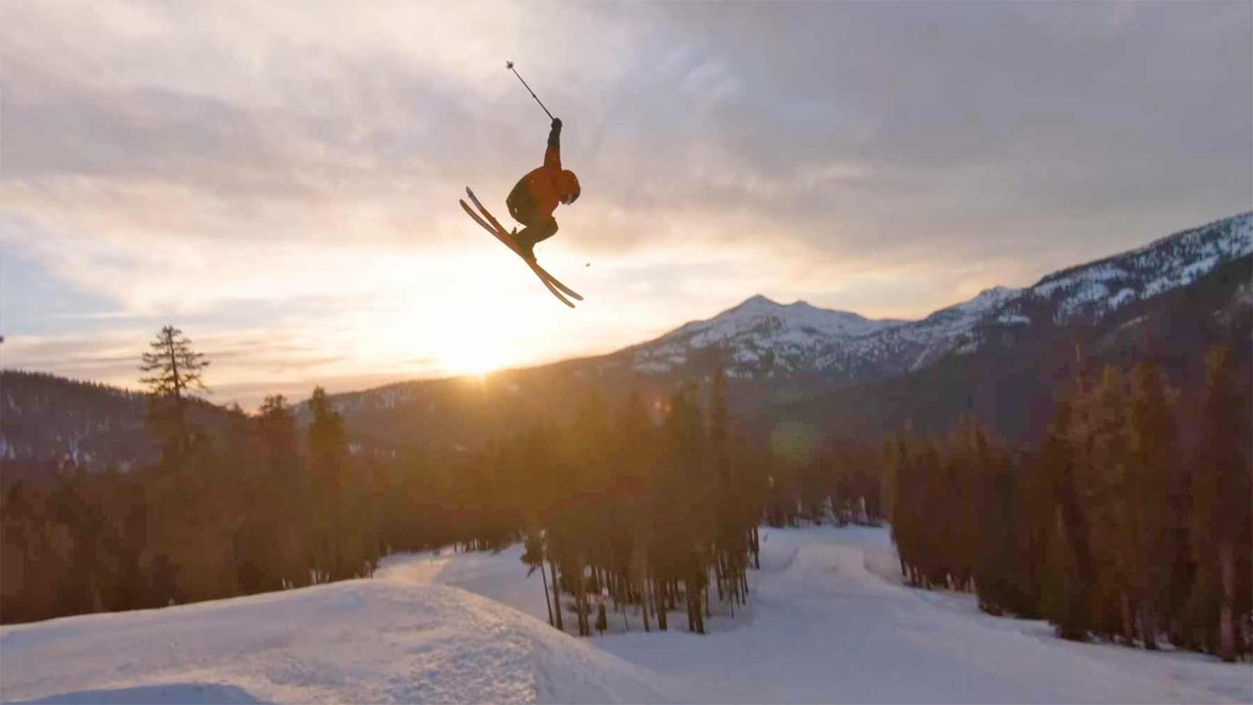 """Ski-Tricks mit Kameradrohnen-Verfolgung: """"FREEZR"""""""