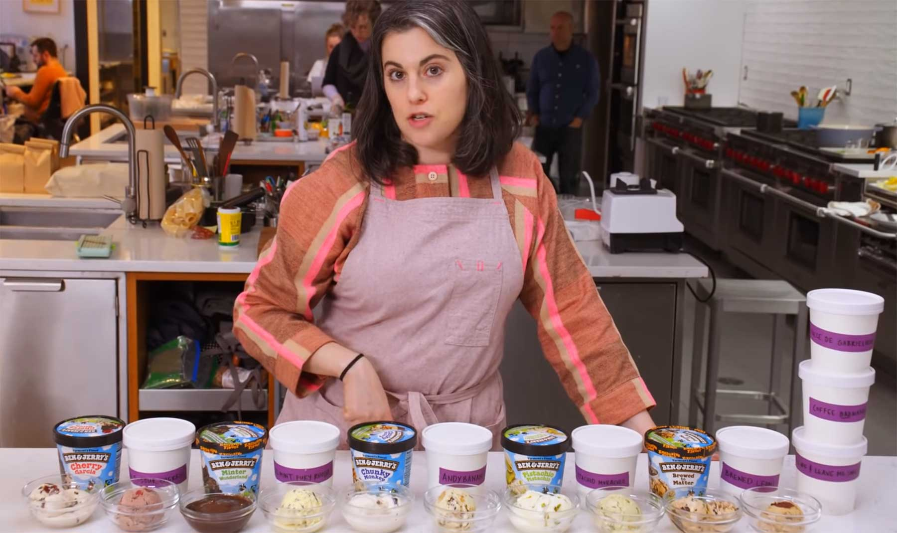 Gourmet-Köchin versucht, Ben & Jerry's Eis nachzumachen