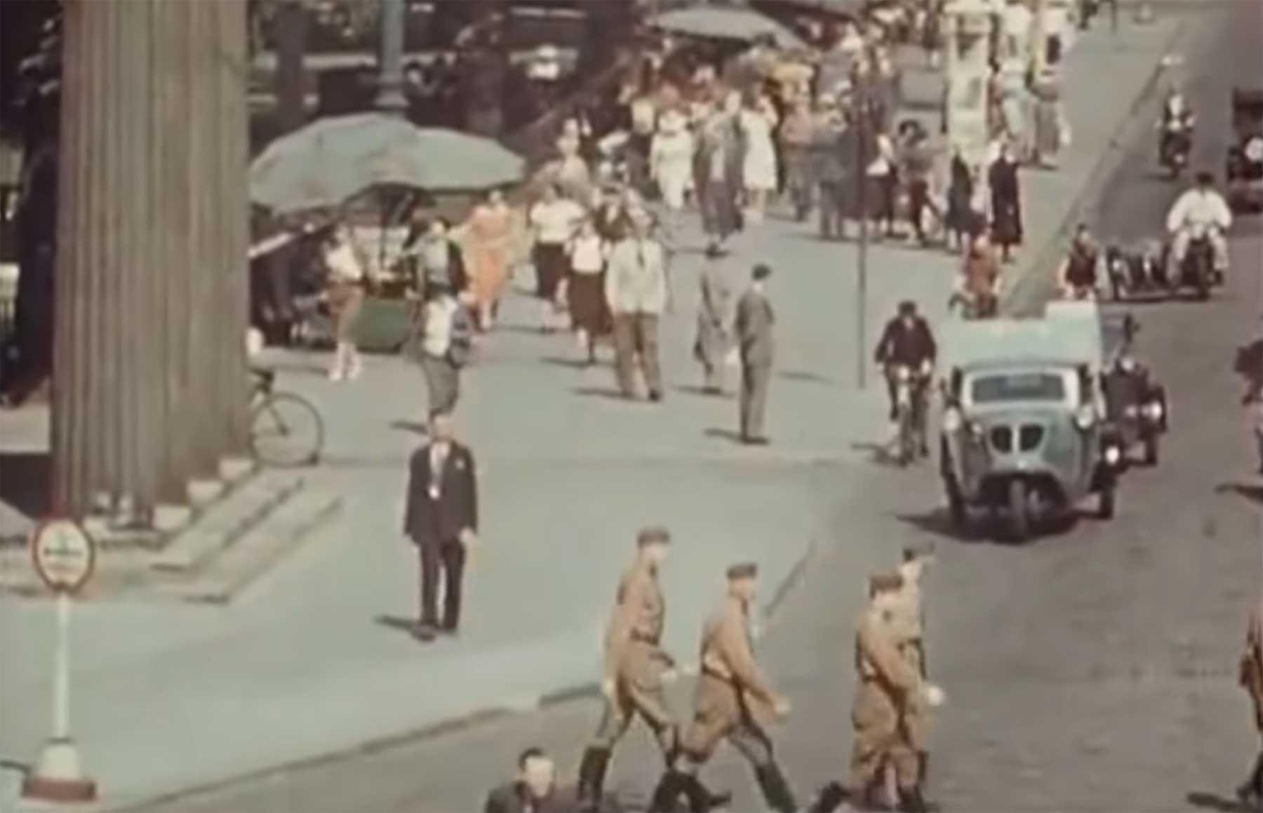 Colorierte Videoaufnahmen aus Berlin im Jahr 1936 berlin-1936-video-coloriert
